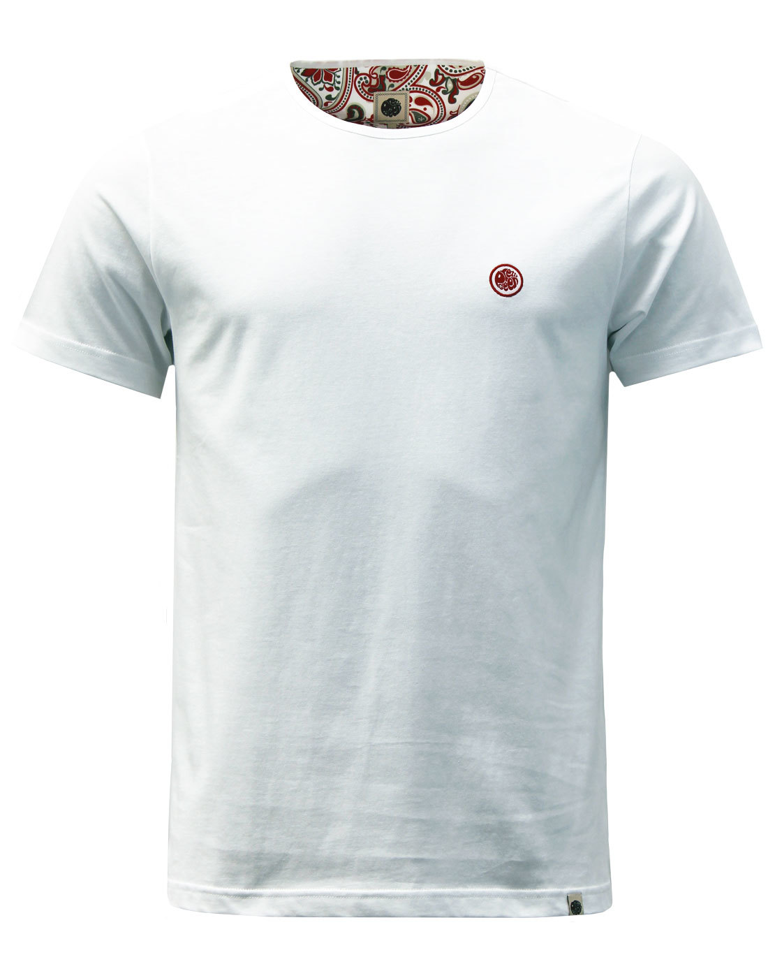 PRETTY GREEN Mitchell Retro Applique Logo Tee (W)