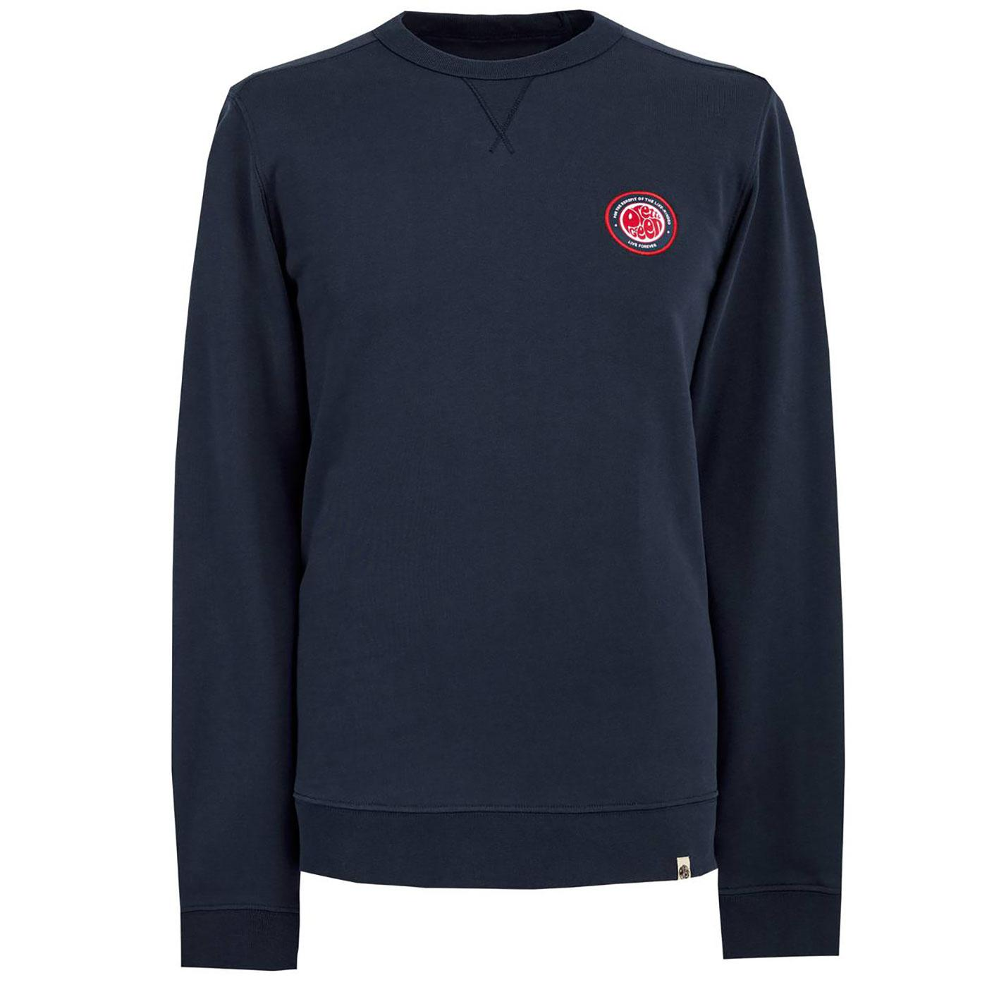 PRETTY GREEN Like Minded Chest Badge Sweatshirt N