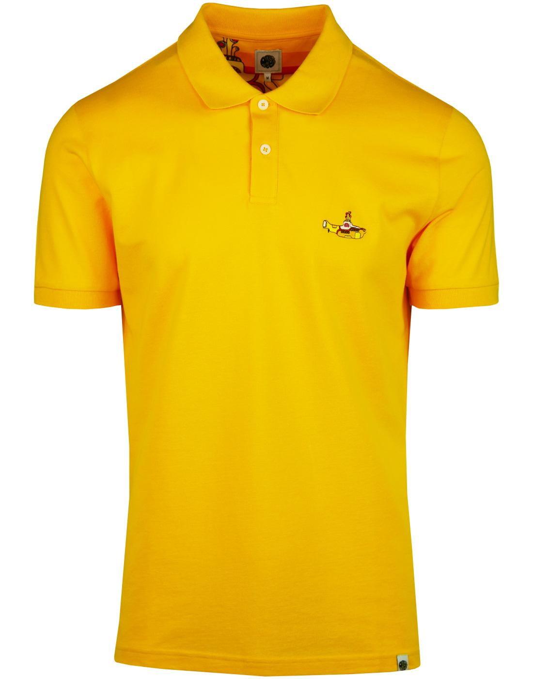 Pretty Green Yellow Submarine Polo