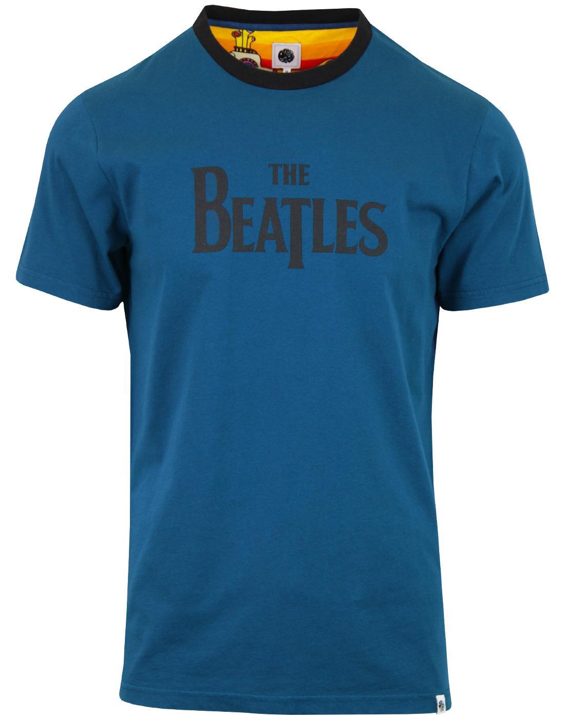 PRETTY GREEN x THE BEATLES Retro Logo T-Shirt (N)