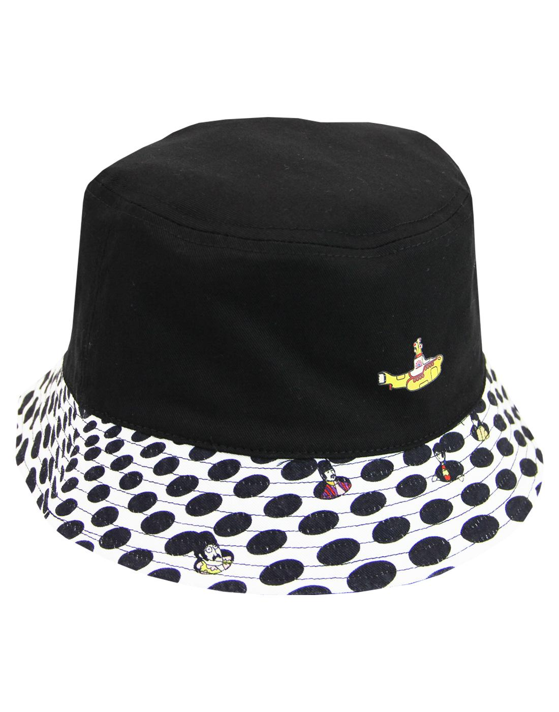 PRETTY GREEN x THE BEATLES Sea Of Holes Bucket Hat