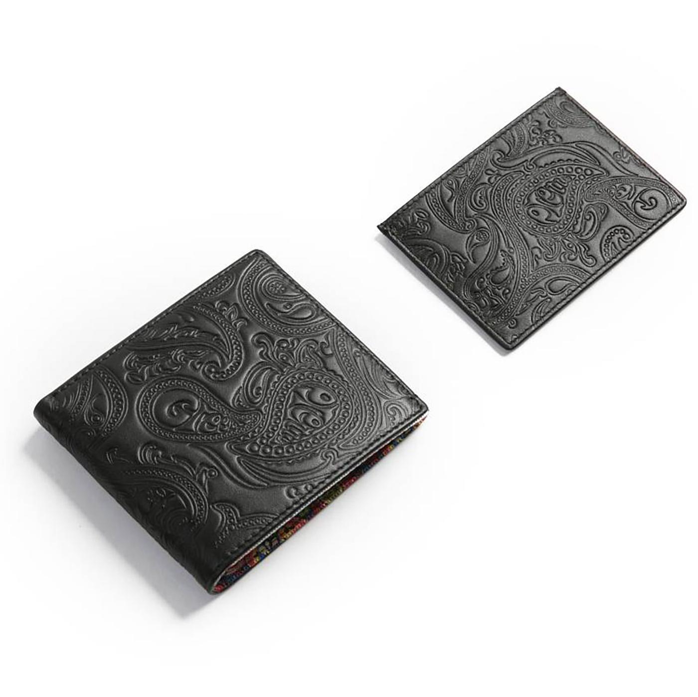 PRETTY GREEN Retro Wallet & Card Holder Gift Set