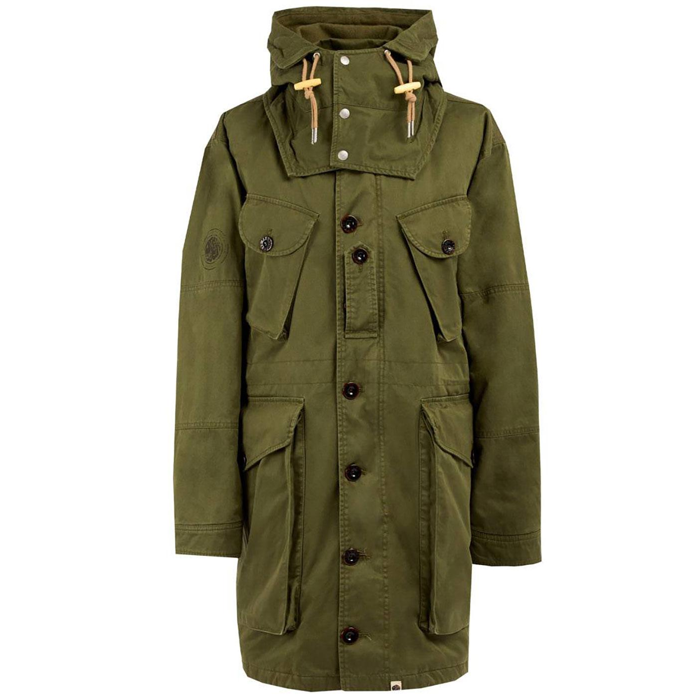 PRETTY GREEN 1960's Mod Heavyweight Parka Jacket