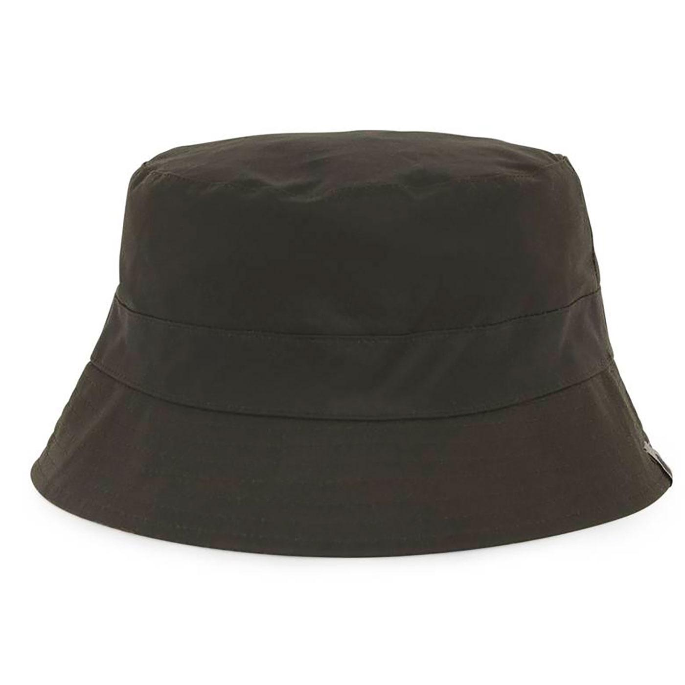 PRETTY GREEN British Millerain Waxed Bucket Hat K