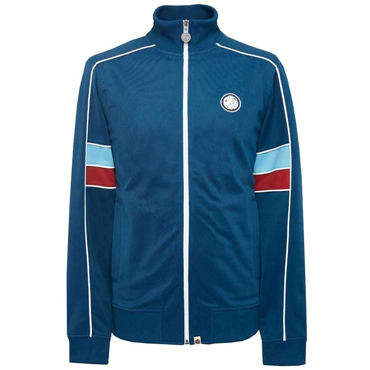 PRETTY GREEN Men's Retro Piped Panel Track Top N
