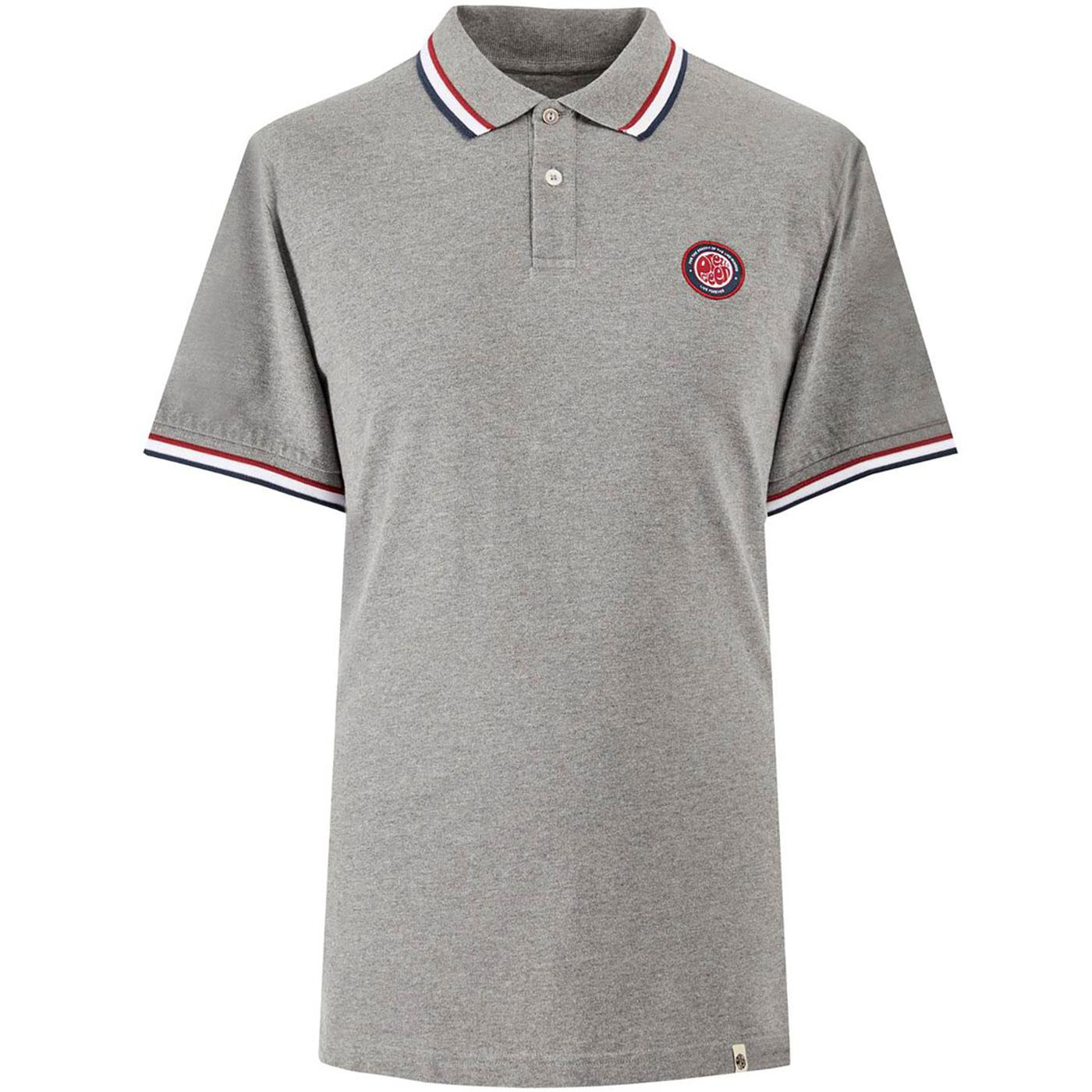 PRETTY GREEN Like Minded Tipped Pique Polo Shirt G