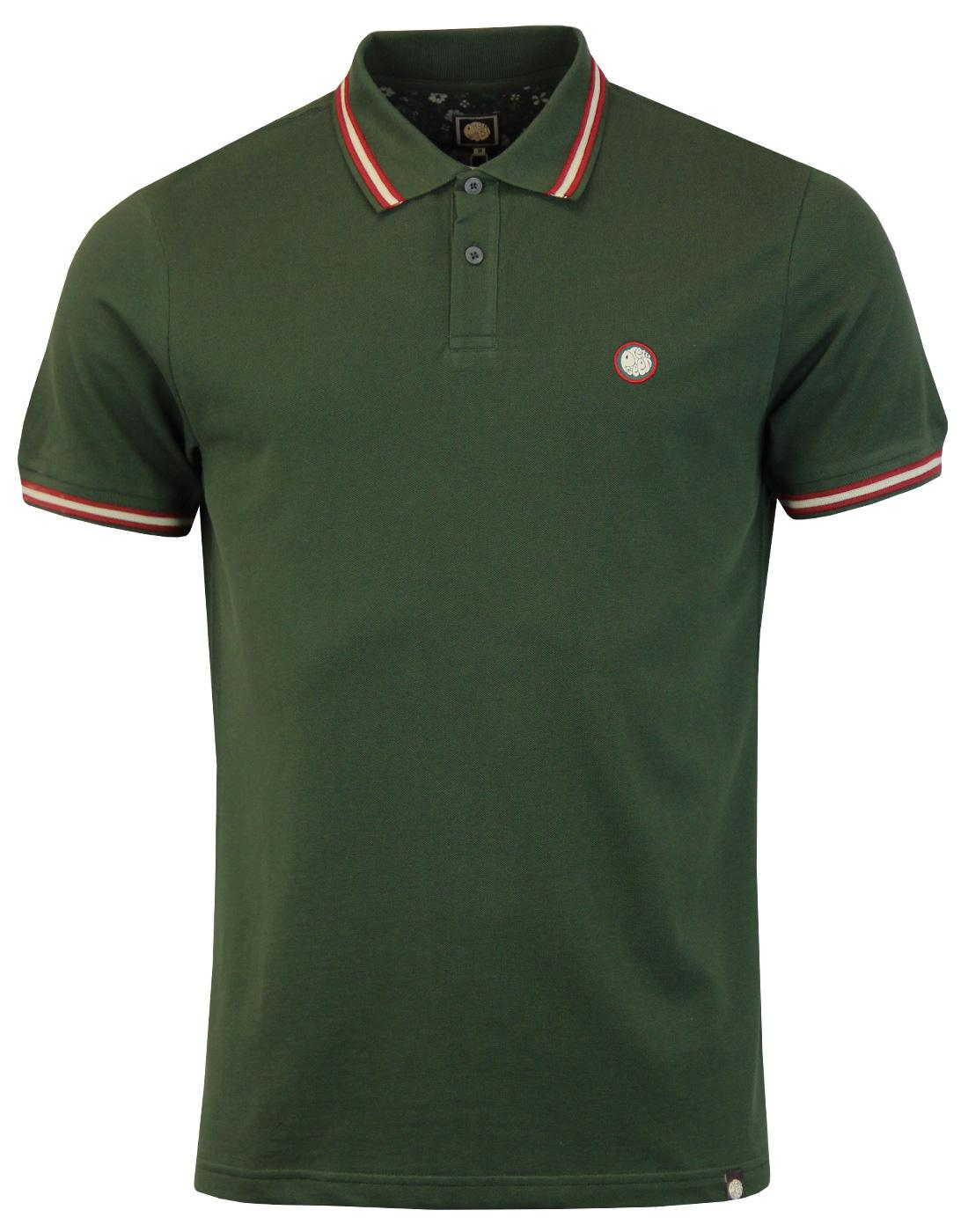 Bennett PRETTY GREEN Retro Mod Rib Tipped Polo DG