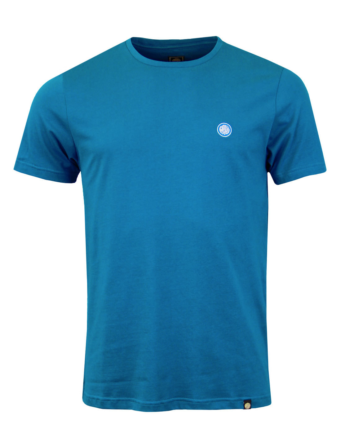 PRETTY GREEN Men's Retro Crew Neck Tee TURQUOISE