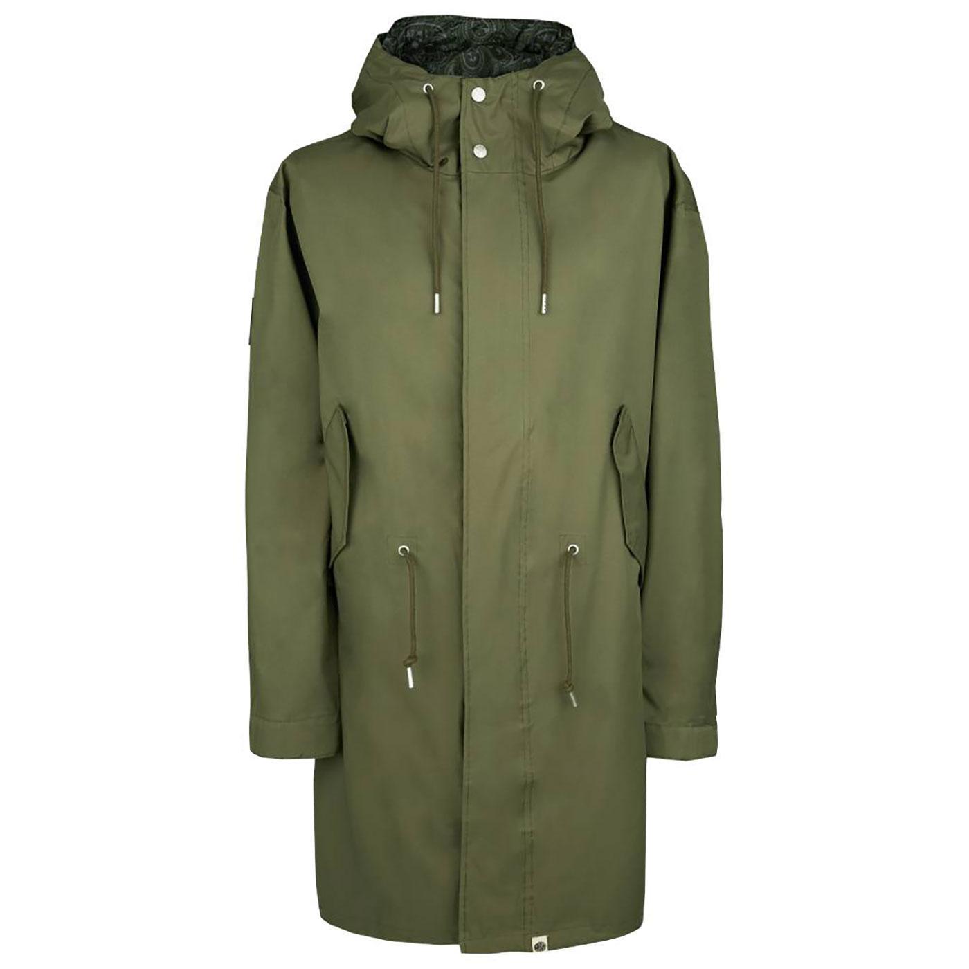 PRETTY GREEN Sealed Technical Mod Parka Jacket