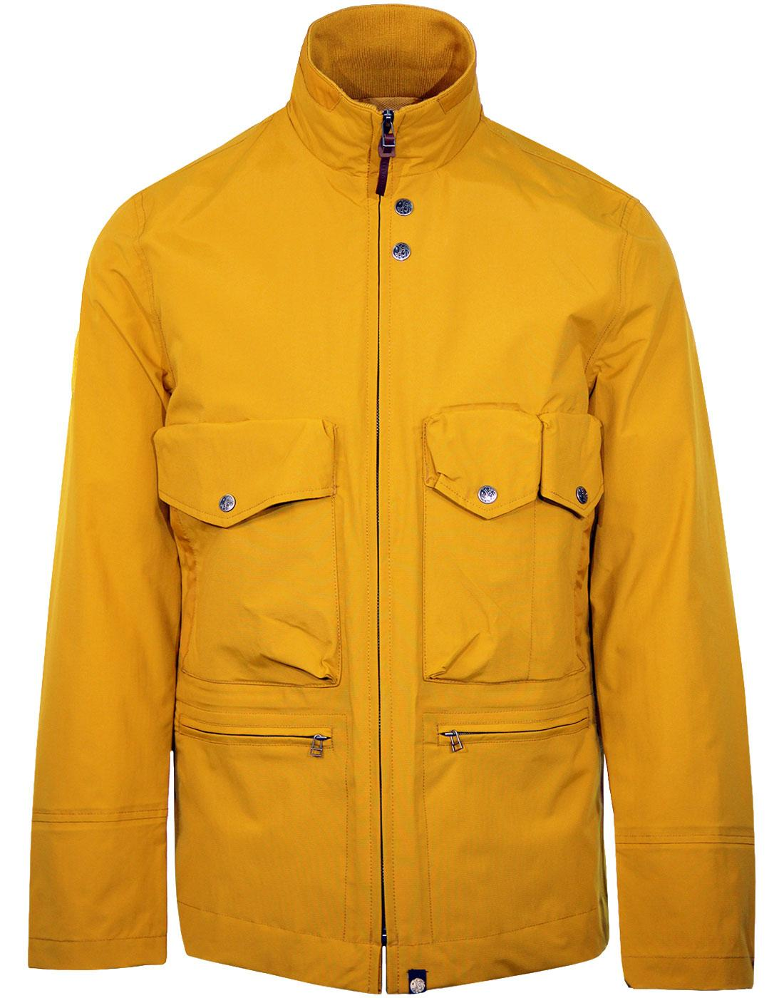 PRETTY GREEN Retro Military Seam Sealed M65 Jacket