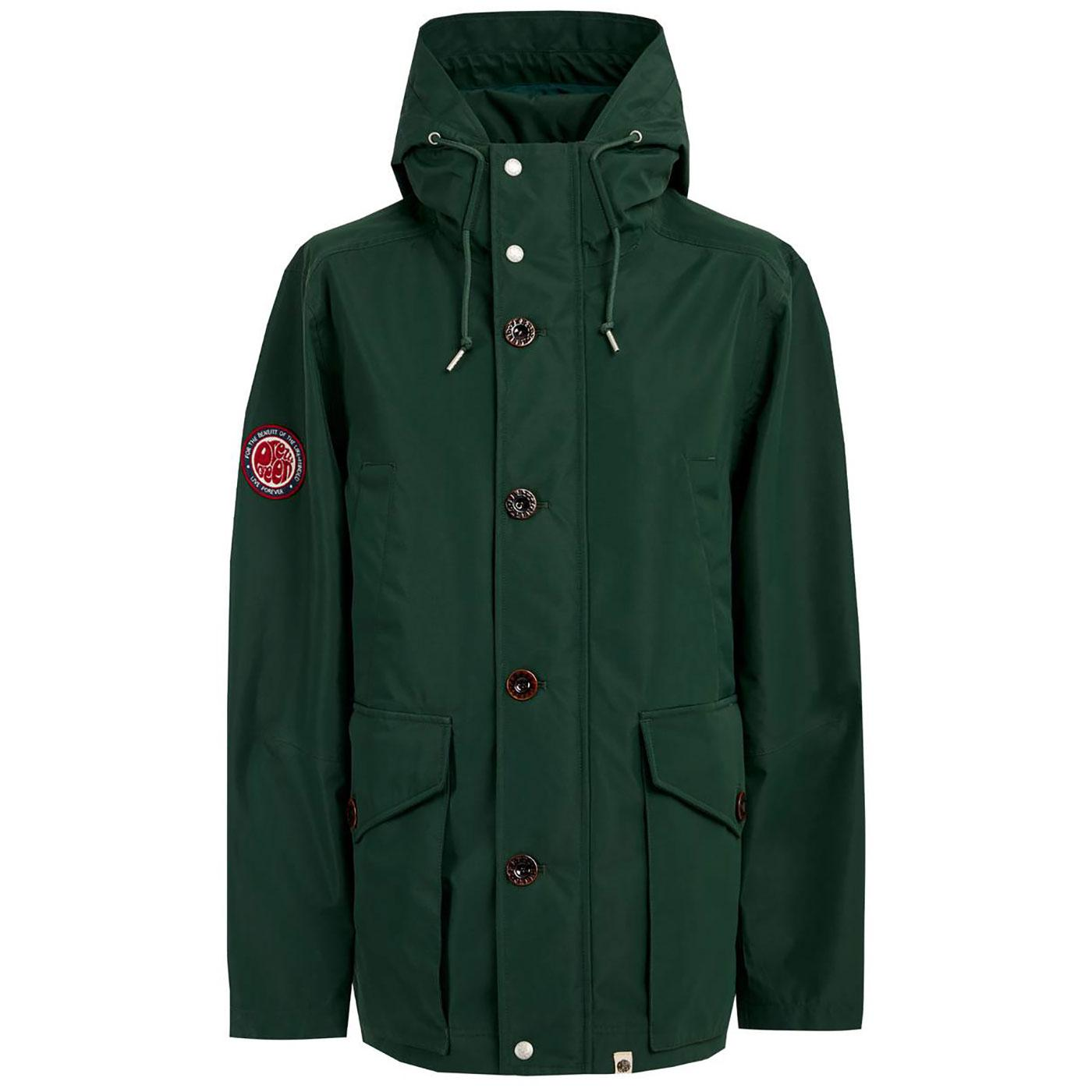 PRETTY GREEN Like Minded Seam Sealed Parka Jacket