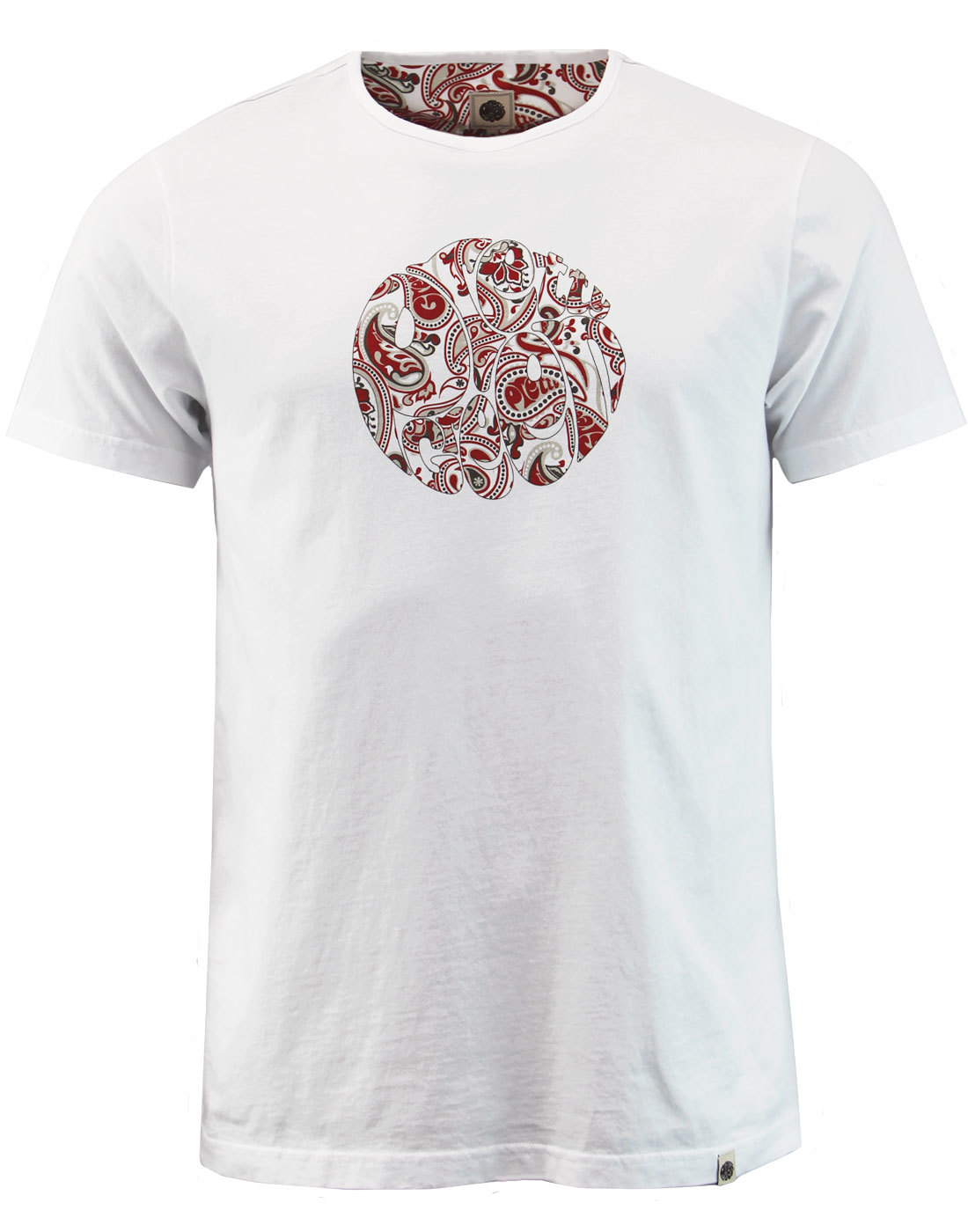 Thornley PRETTY GREEN 60s Mod Paisley Logo Tee (W)
