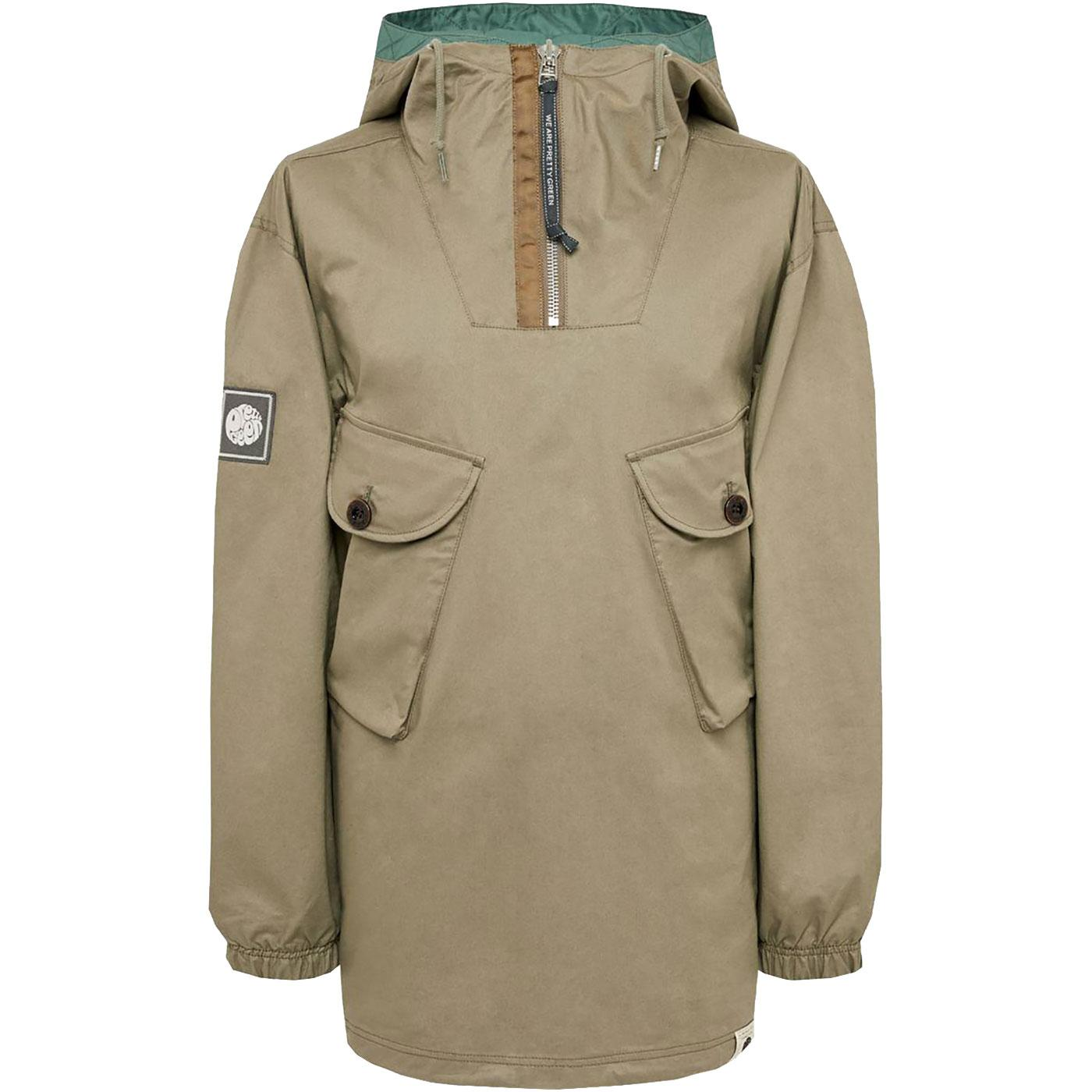 PRETTY GREEN Retro Two Pocket Overhead Jacket K