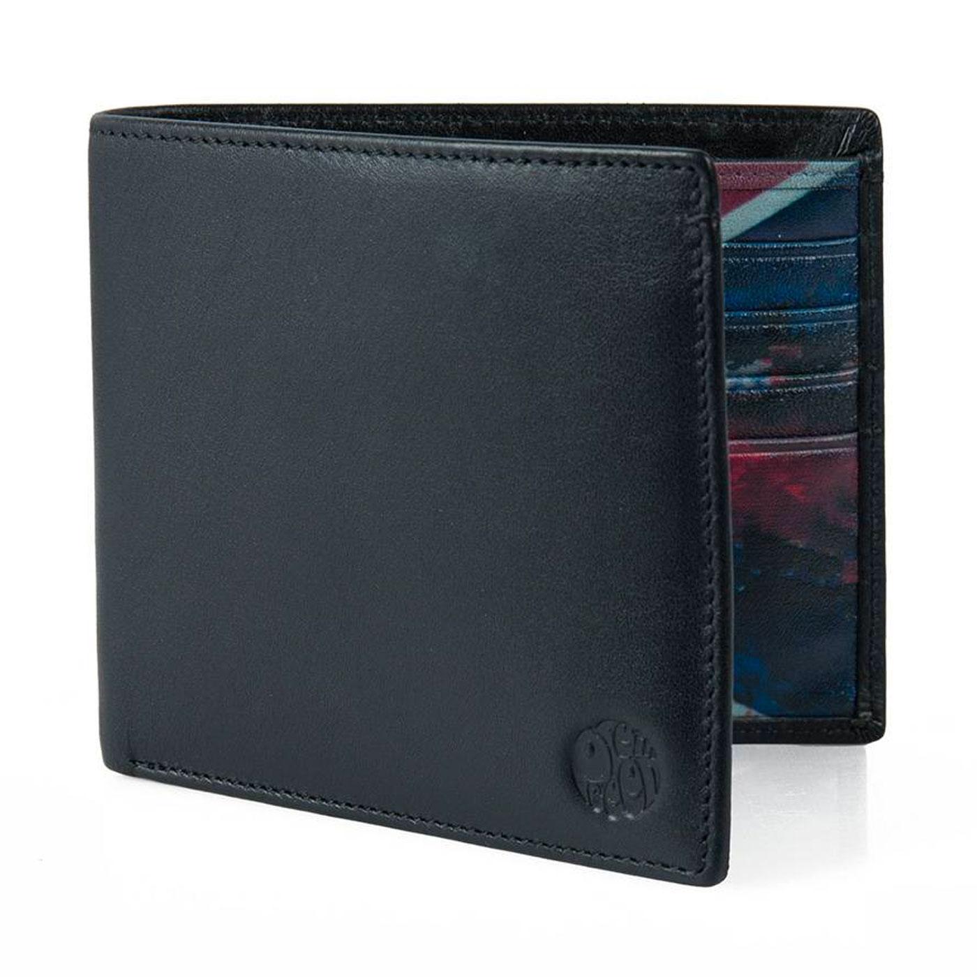 PRETTY GREEN Britpop Union Jack Bi Fold Wallet (B)