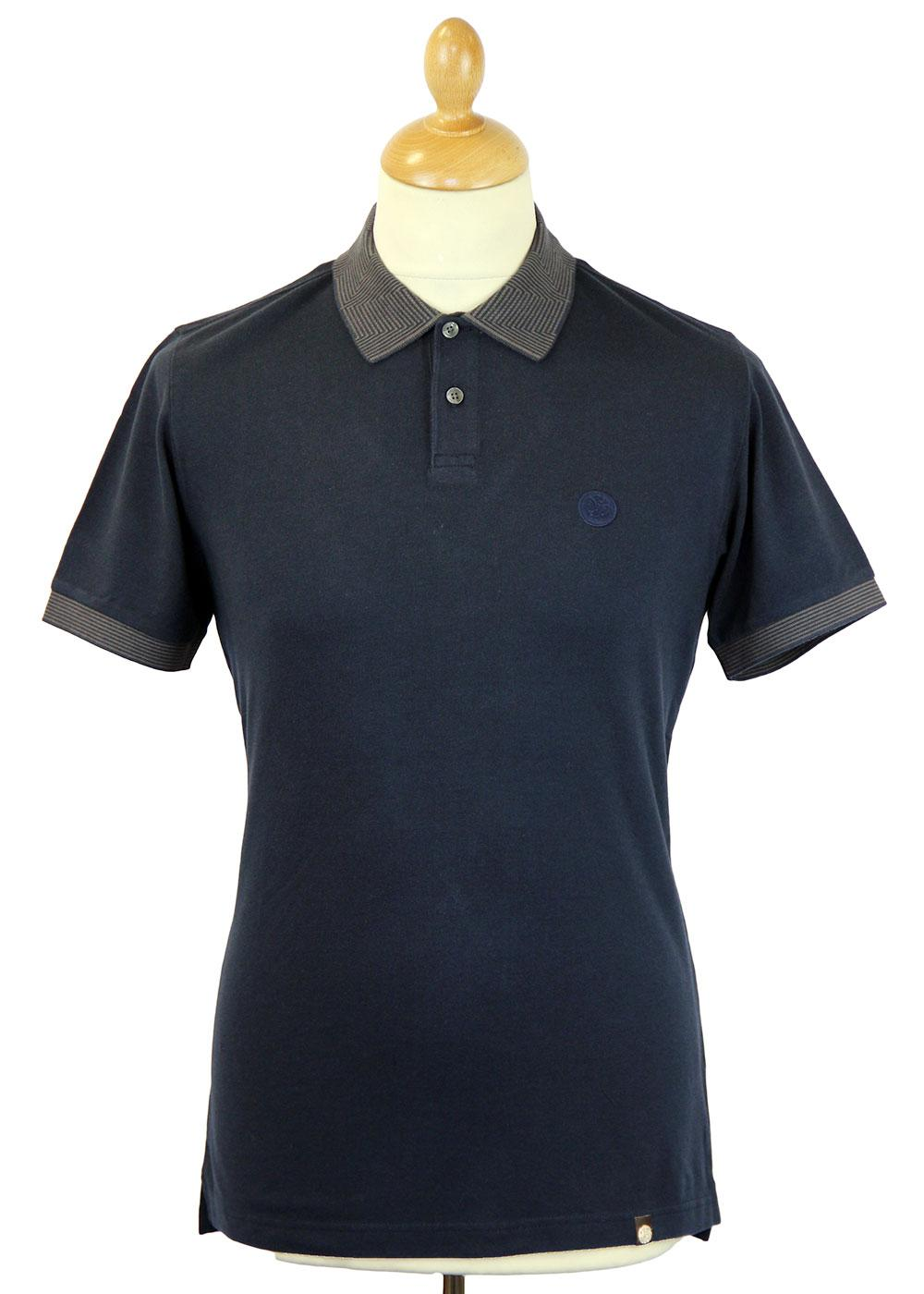 Kenyon PRETTY GREEN Retro Mod Optical Polo Shirt