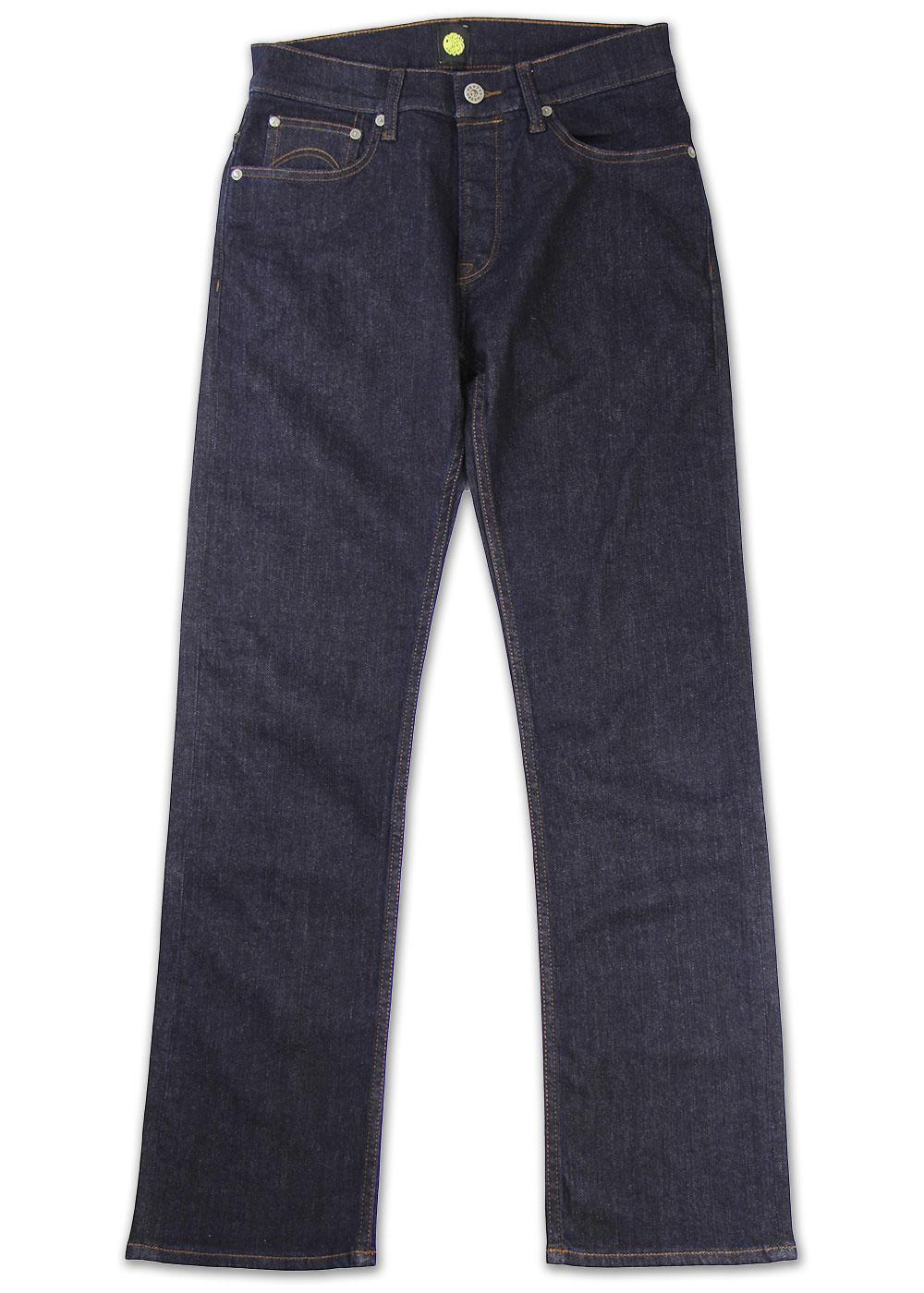 PRETTY GREEN Regular Straight Leg Rinse Wash Jeans