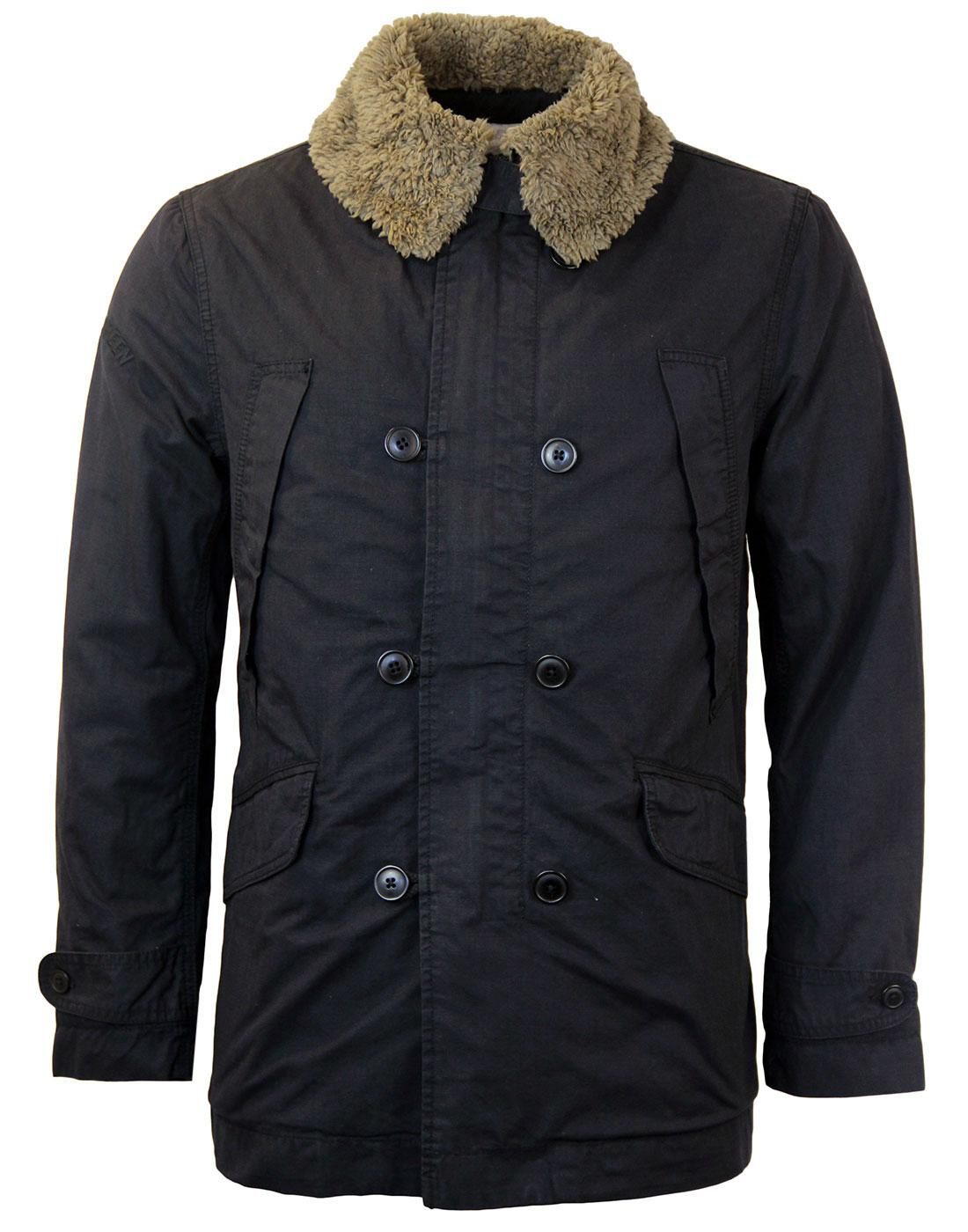 Parbrook PRETTY GREEN Double Breasted Retro Jacket