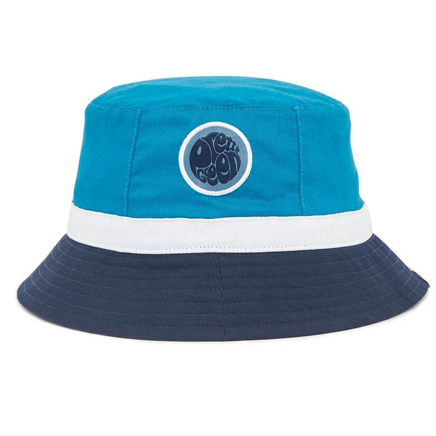 G20QMUACC017 colourblock bucket hat blue