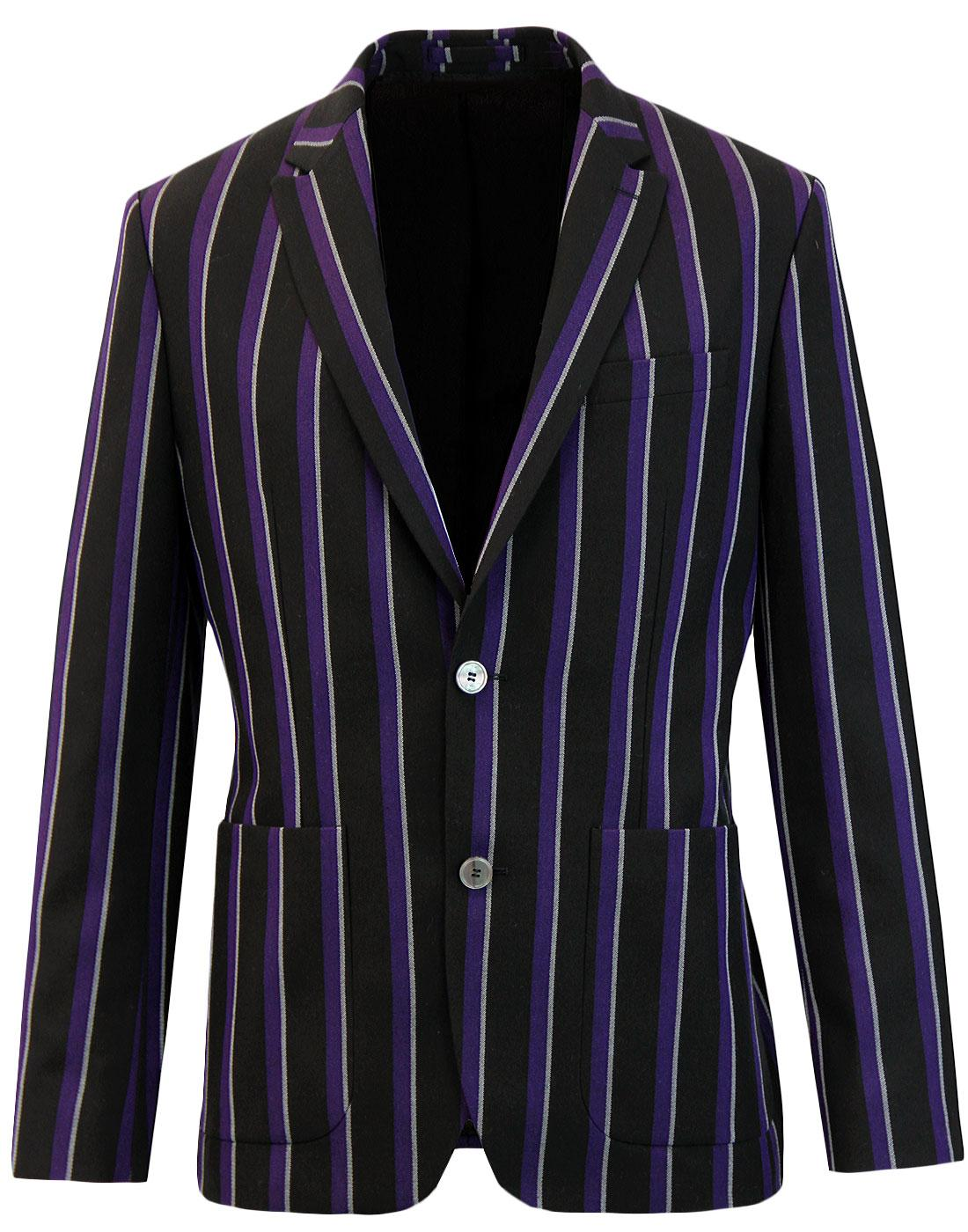 Mayfield PRETTY GREEN Mod Stripe Boating Blazer