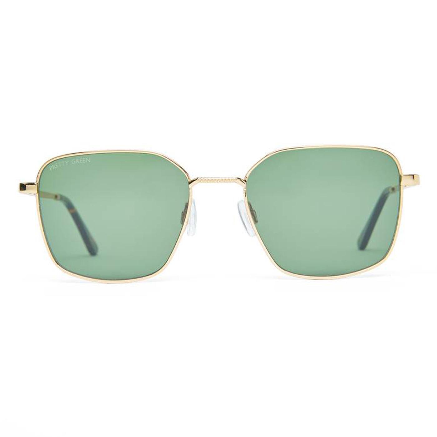 PRETTY GREEN Mod Square Frame Aviator Sunglasses G