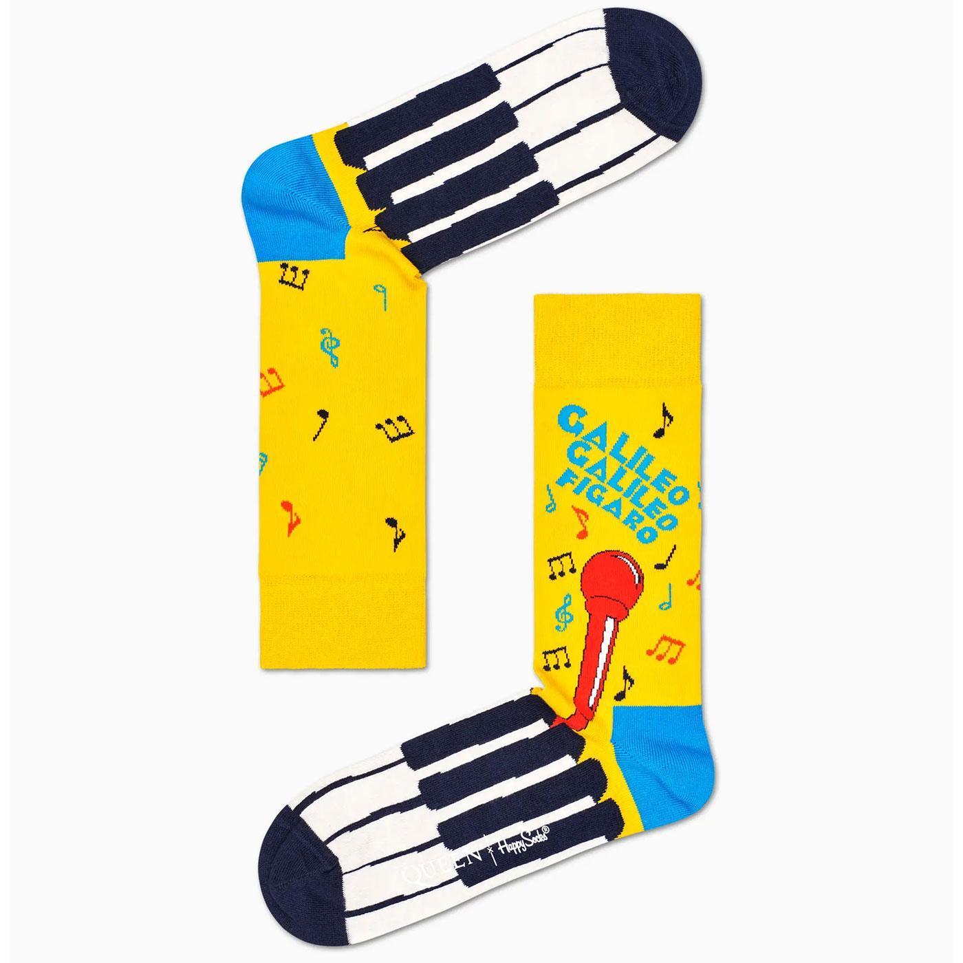 + HAPPY SOCKS X QUEEN Bohemian Rhapsody Socks