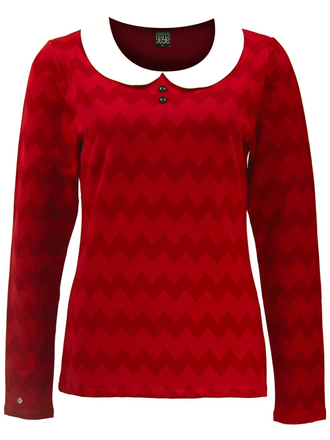 Raspberry Pie MADEMOISELLE YEYE Retro Mod Top (R)