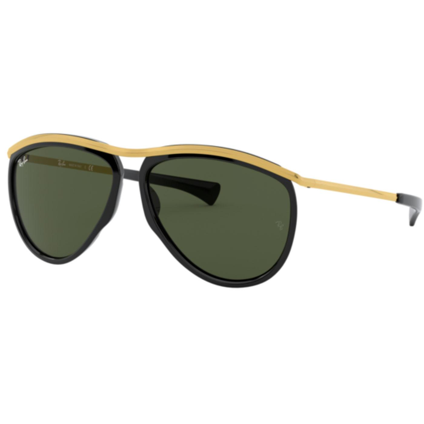Olympian Aviator RAY-BAN Sunglasses (Black/Gold)