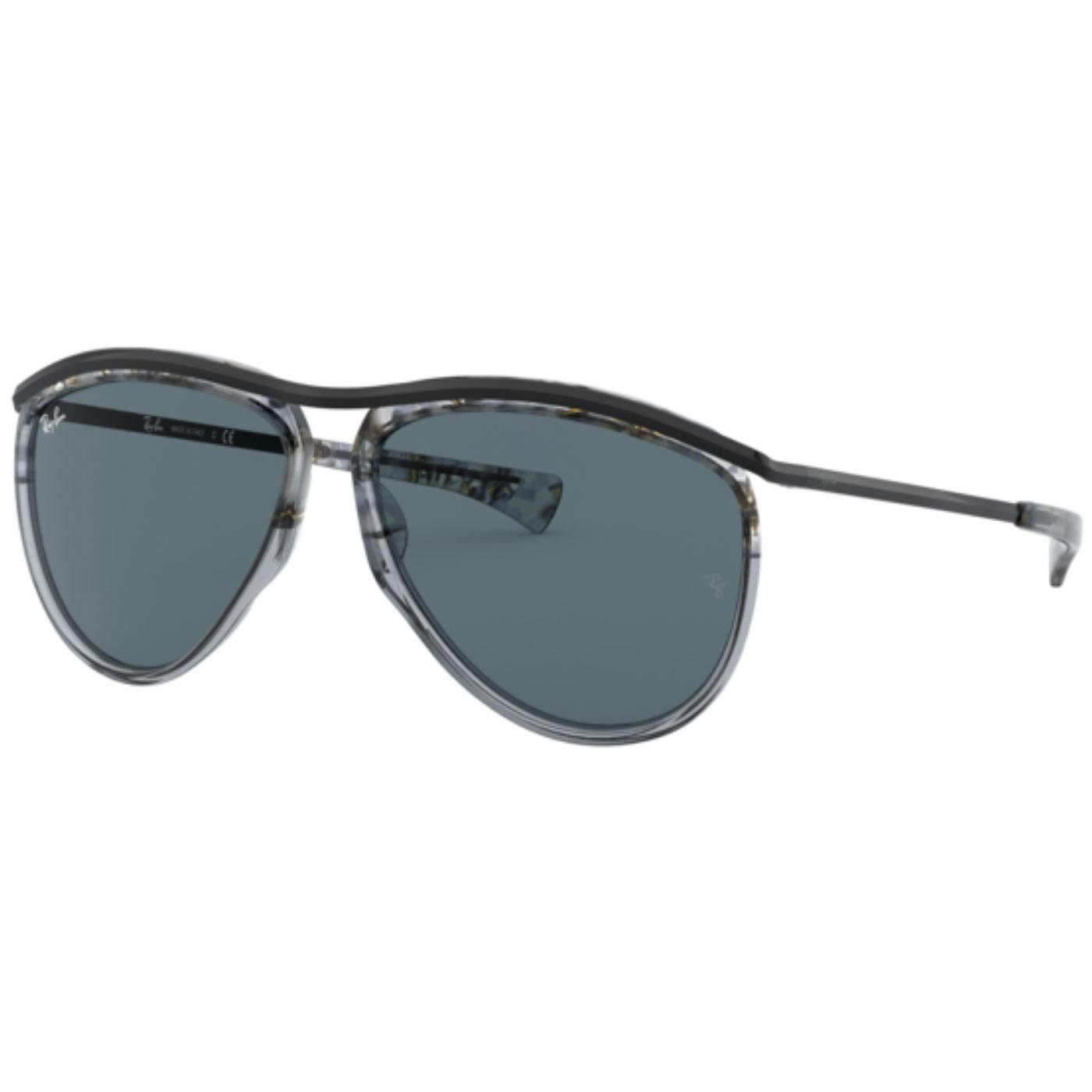 Olympian Aviator RAY-BAN Sunglasses (Havana Grey)