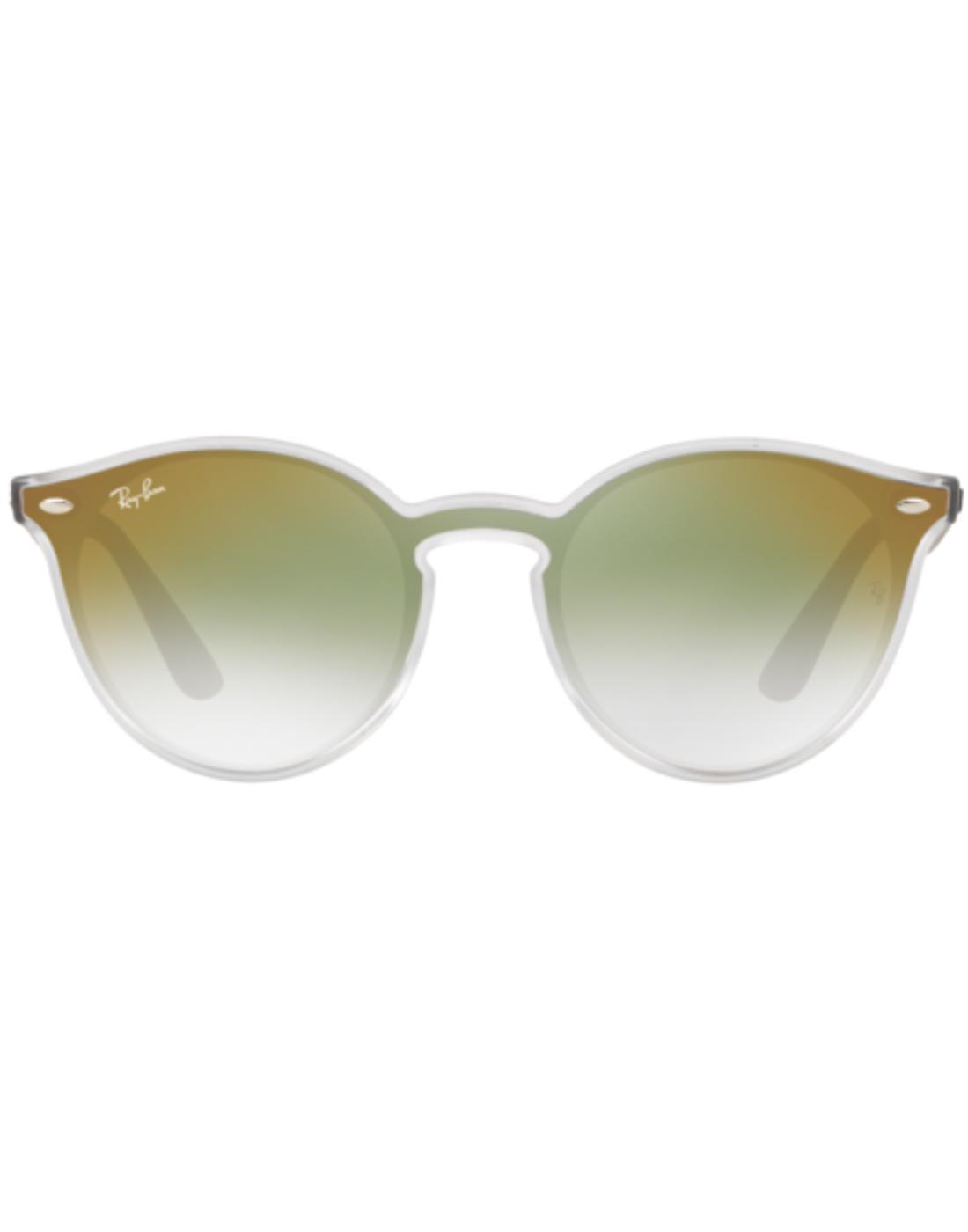 Blaze Clubround RAY-BAN Mirror Sunglasses Green