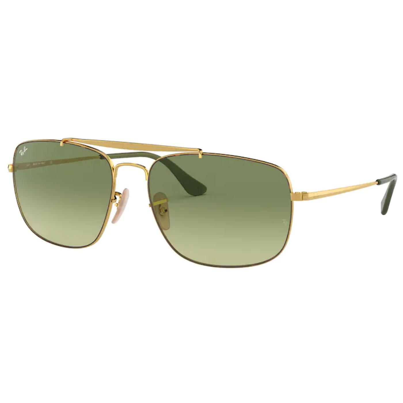 The Colonel RAY-BAN Iconic Retro Sunglasses (G/G)