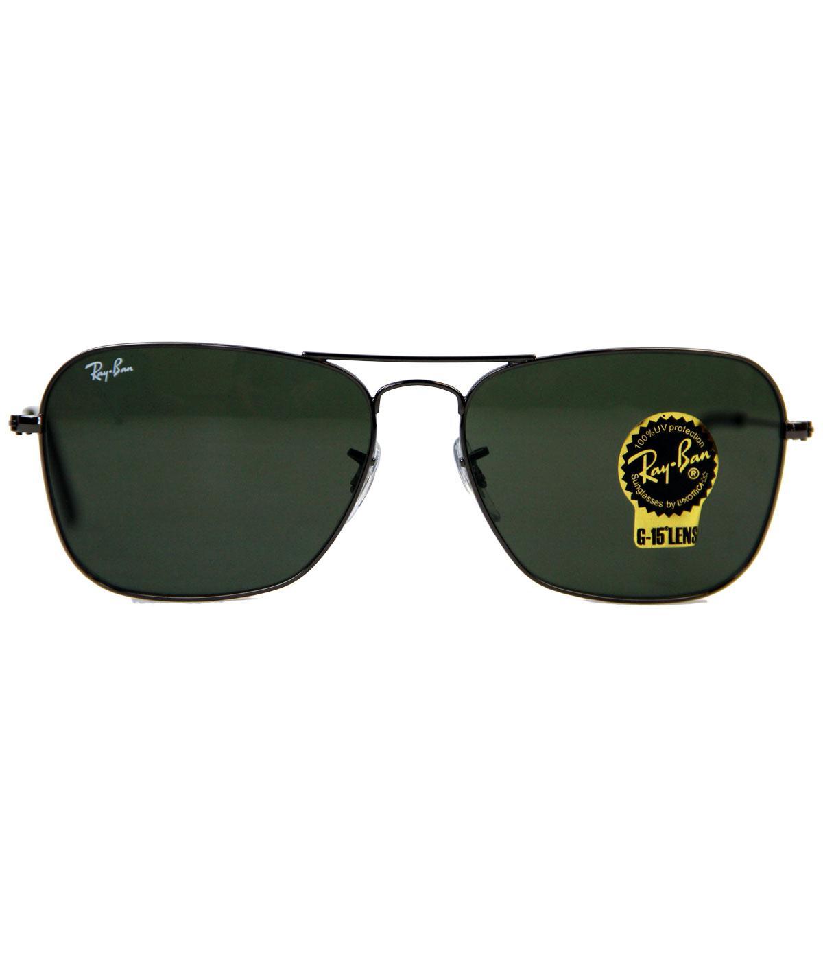 ray ban caravan on sale  ray ban sunglasses retro mod caravan gunmetal