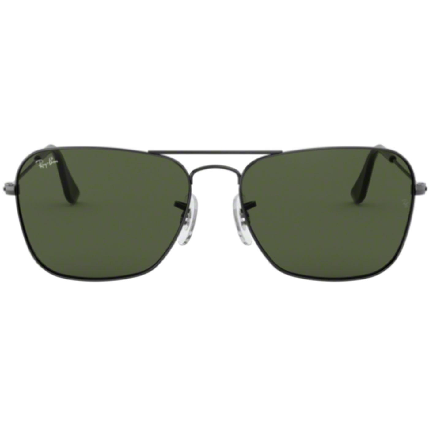Ray-Ban Caravan Retro G-15 Lens Sunglasses 0RB3136
