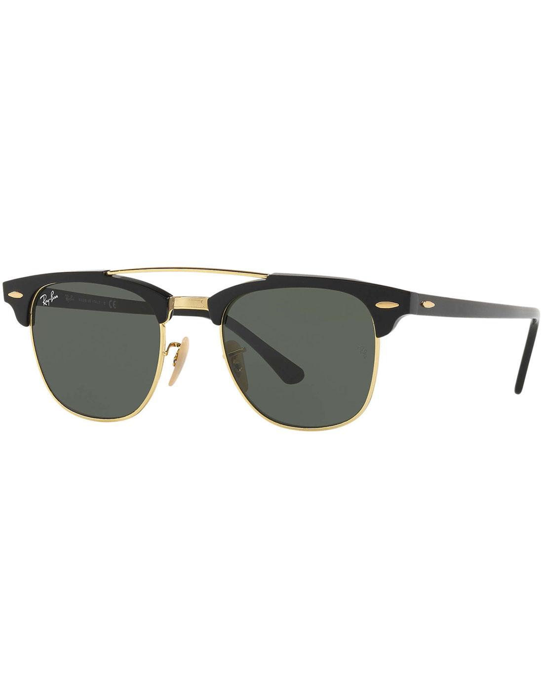 06a36b3a08 ... norway clubmaster ray ban double bridge retro sunglasses d4aed e7d15