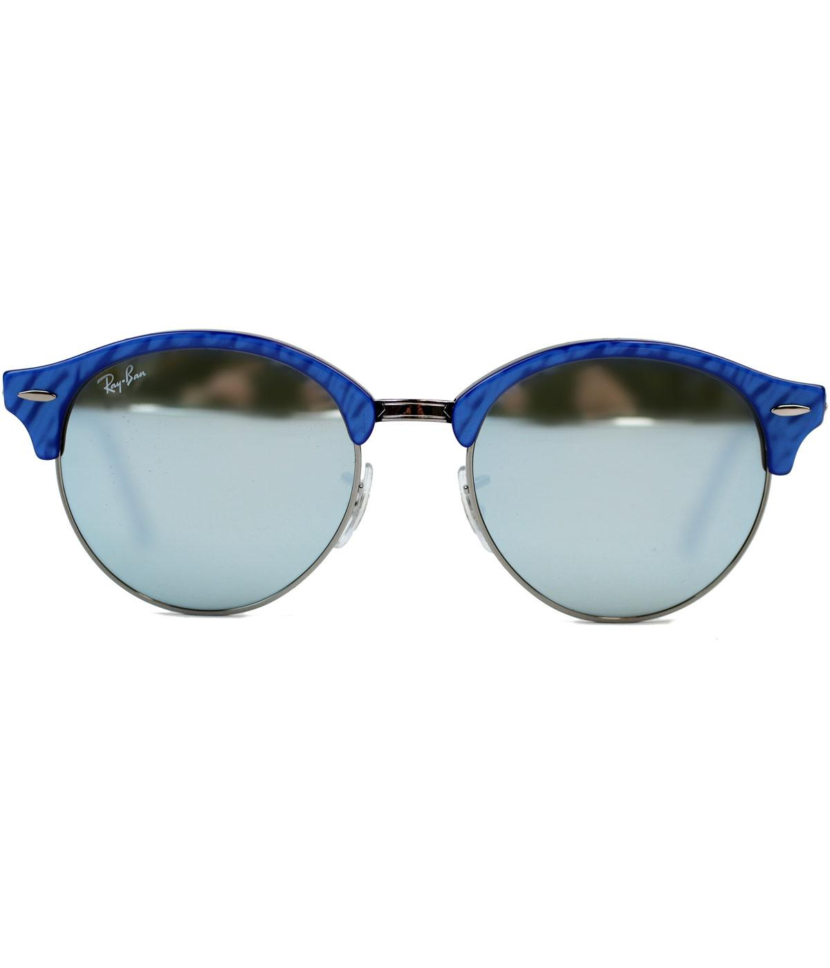 7050566df61 Ray Ban Sunglasses Round Black Blue « One More Soul