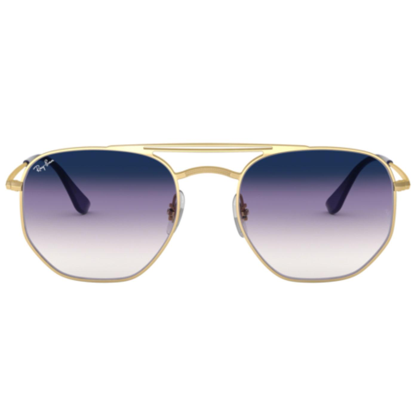 RAY-BAN Retro Double Bridge Hexagon Sunglasses (P)