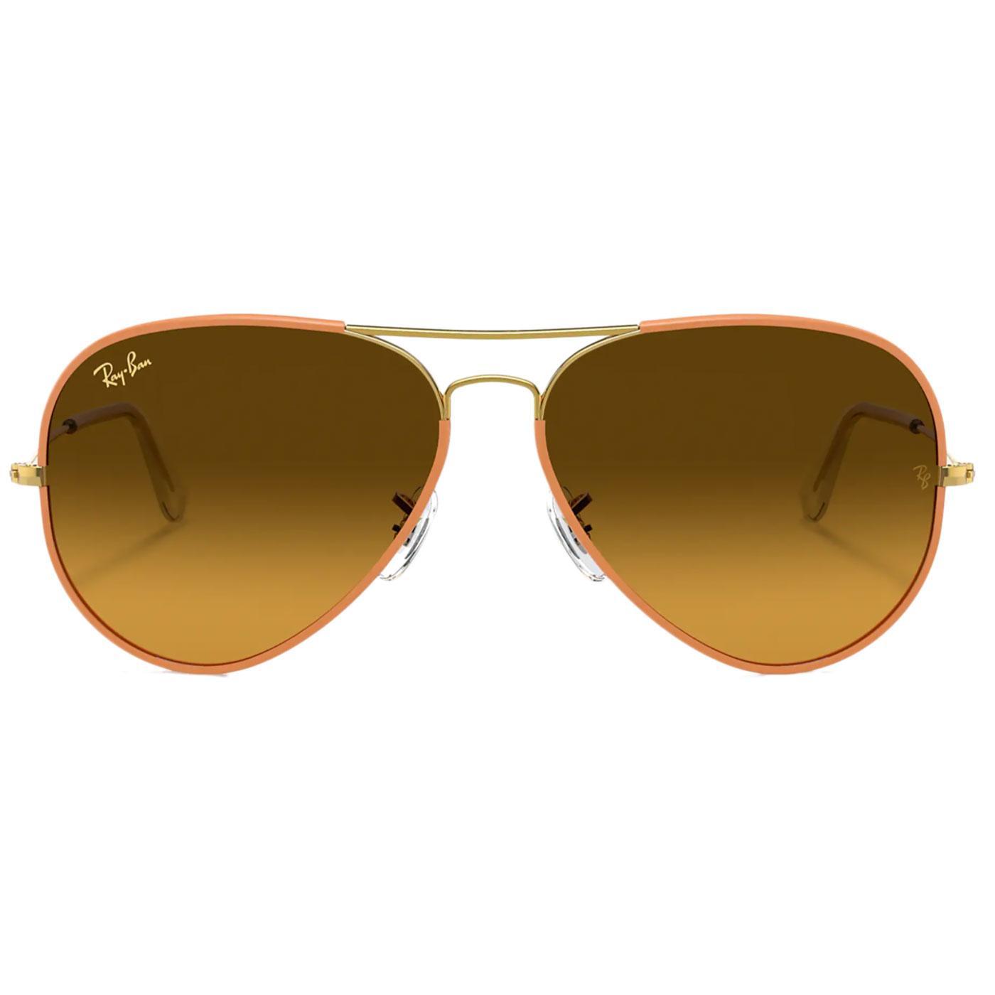 Aviator Full Colour RAY-BAN Retro 70s Sunglasses O