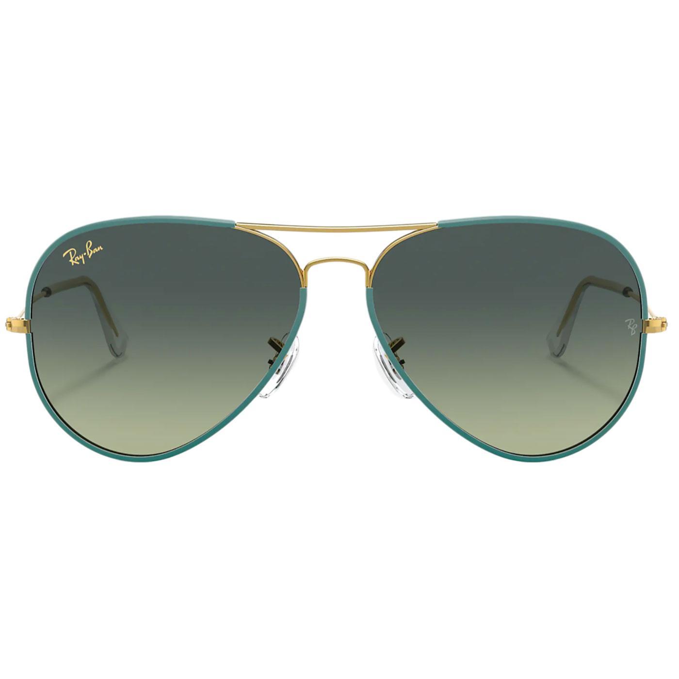 Aviator Full Colour RAY-BAN Retro 70s Sunglasses P