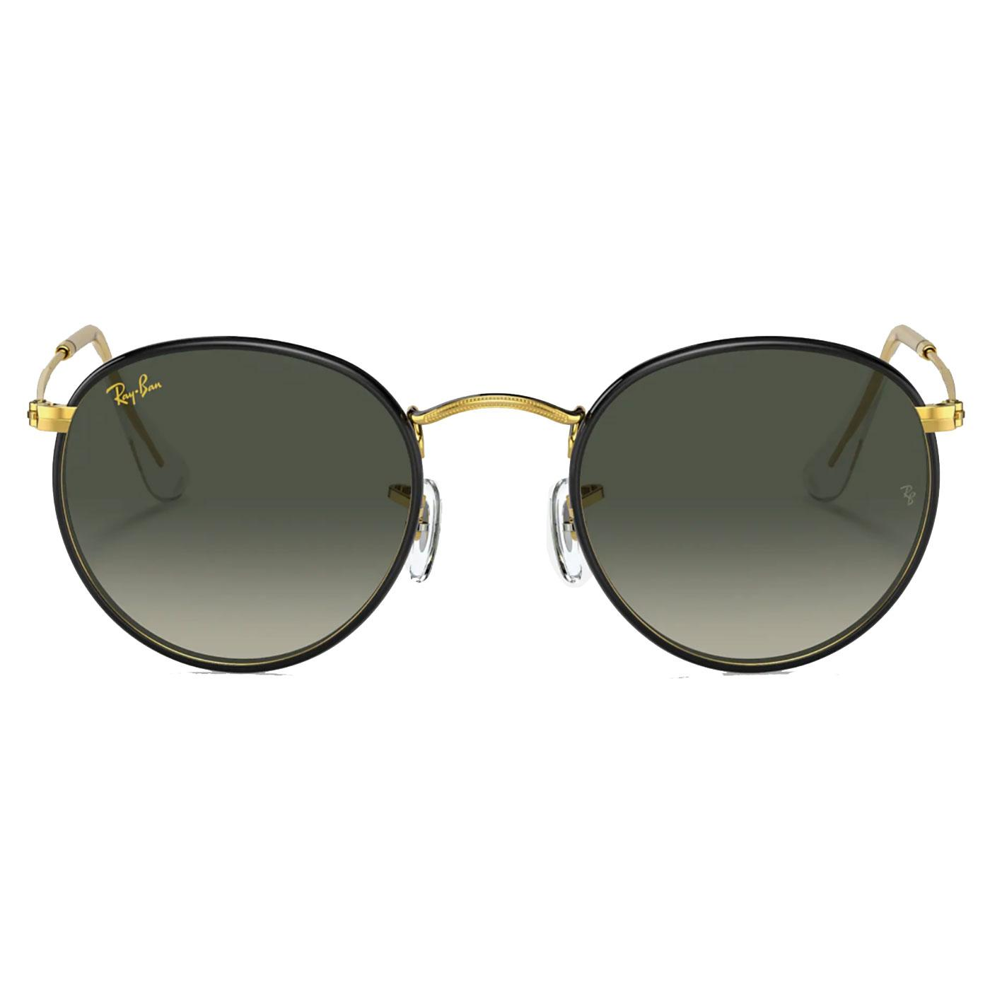 RAY-BAN Round Full Colour Retro 60s Sunglasses B
