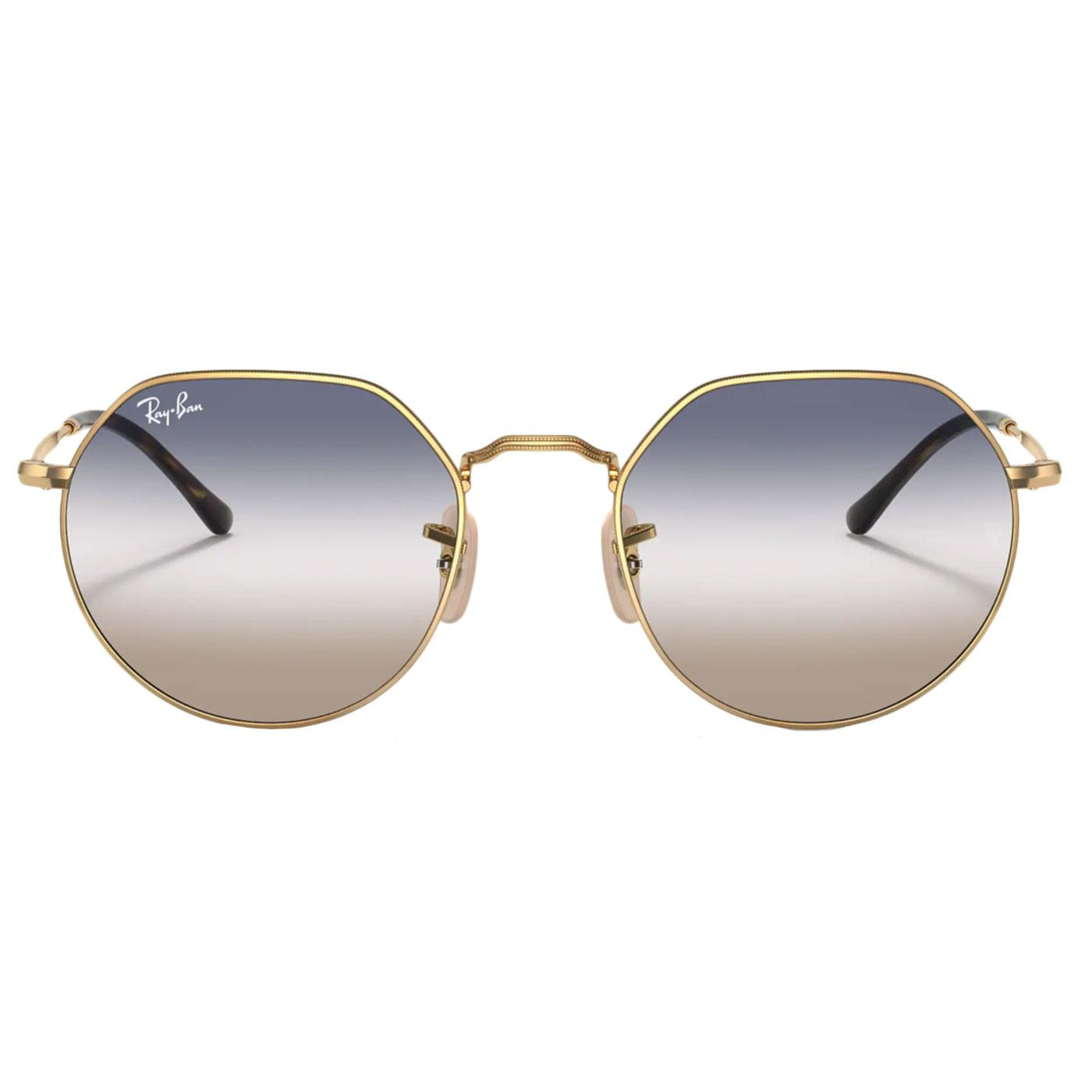 Jack RAY-BAN Retro 60s/70s Hexagonal Sunglasses AG
