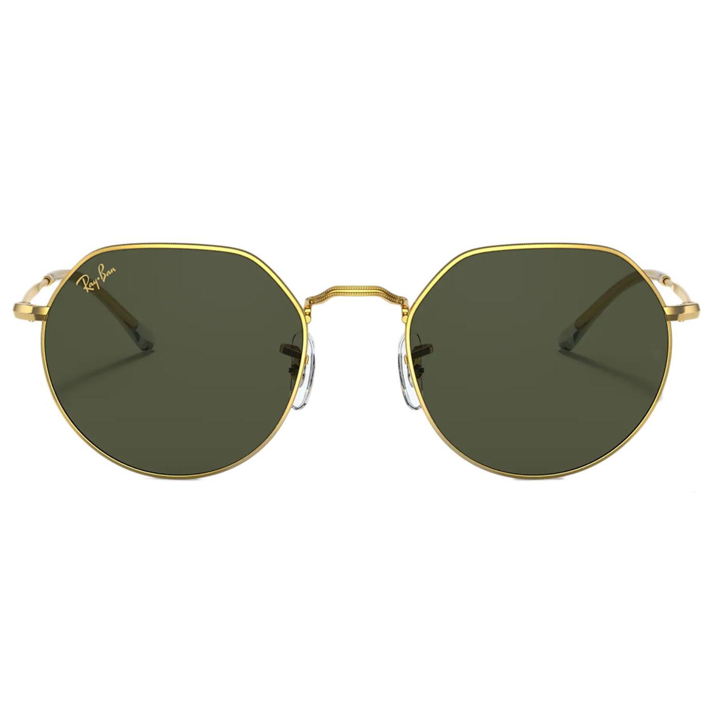 Jack RAY-BAN Retro 60s/70s Hexagonal Sunglasses GG