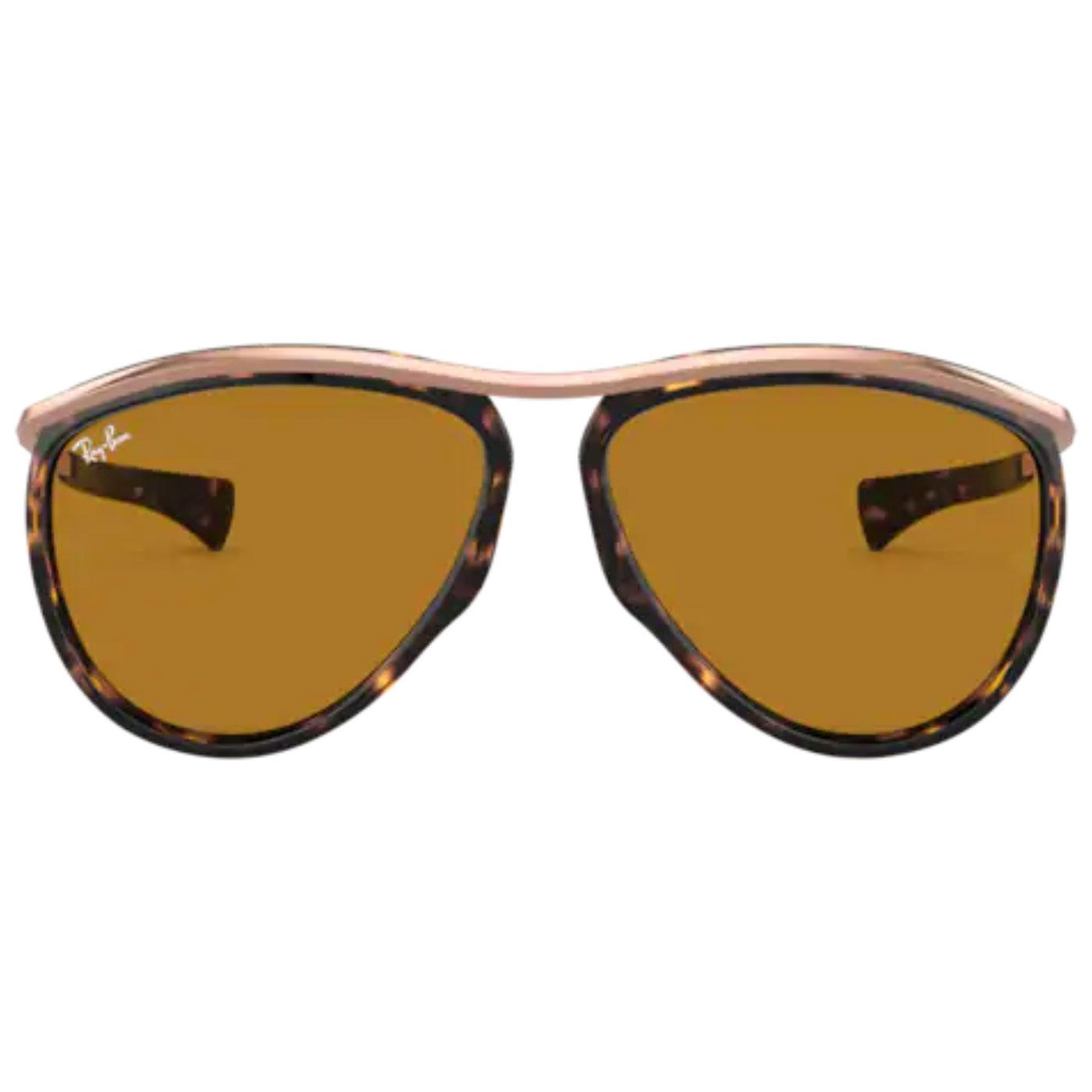 Olympian Aviator RAY-BAN Retro 60s Sunglasses HB