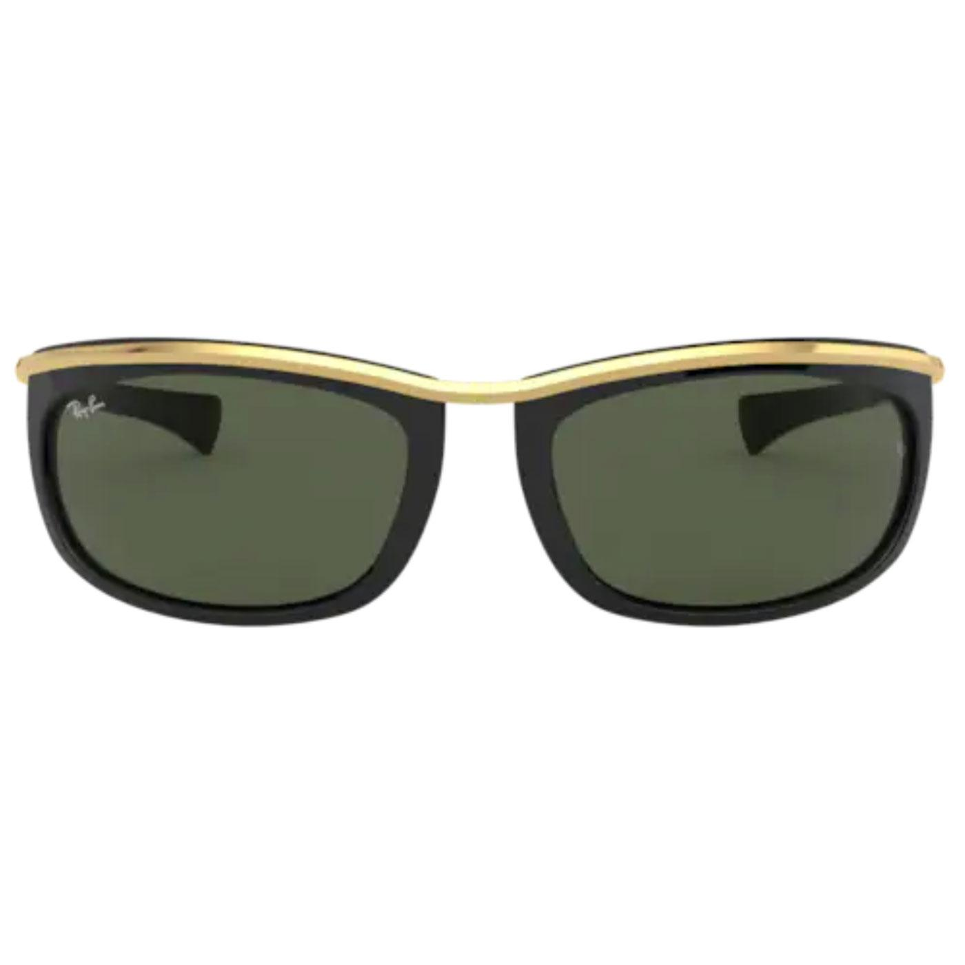 Olympian RAY-BAN Retro 60s Sunglasses in Black