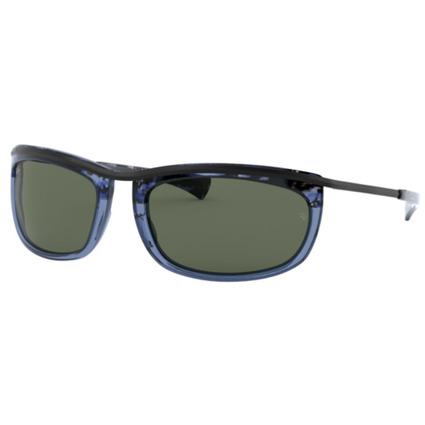 Olympian I RAY-BAN Retro Sunglasses (Blue Havana)