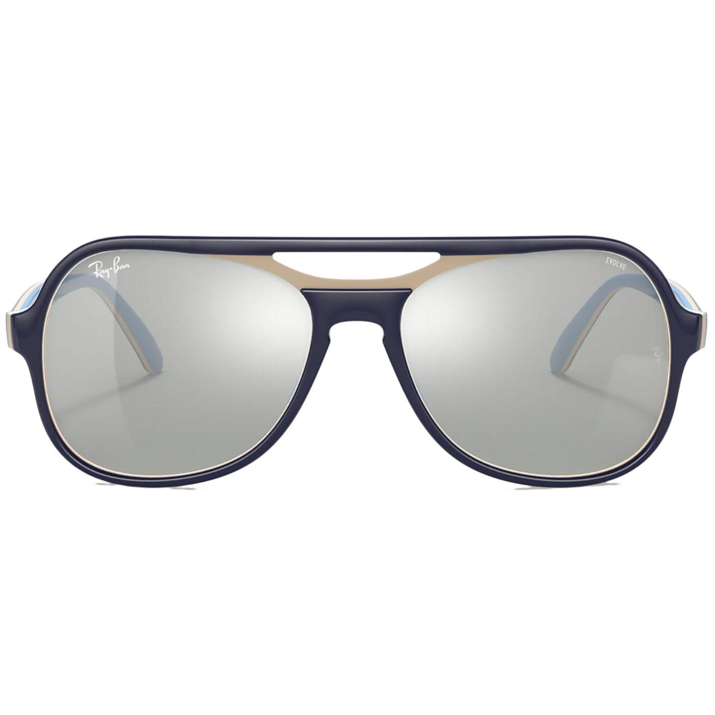 Powderhorn RAY-BAN 70s 2-Tone Aviator Sunglasses B