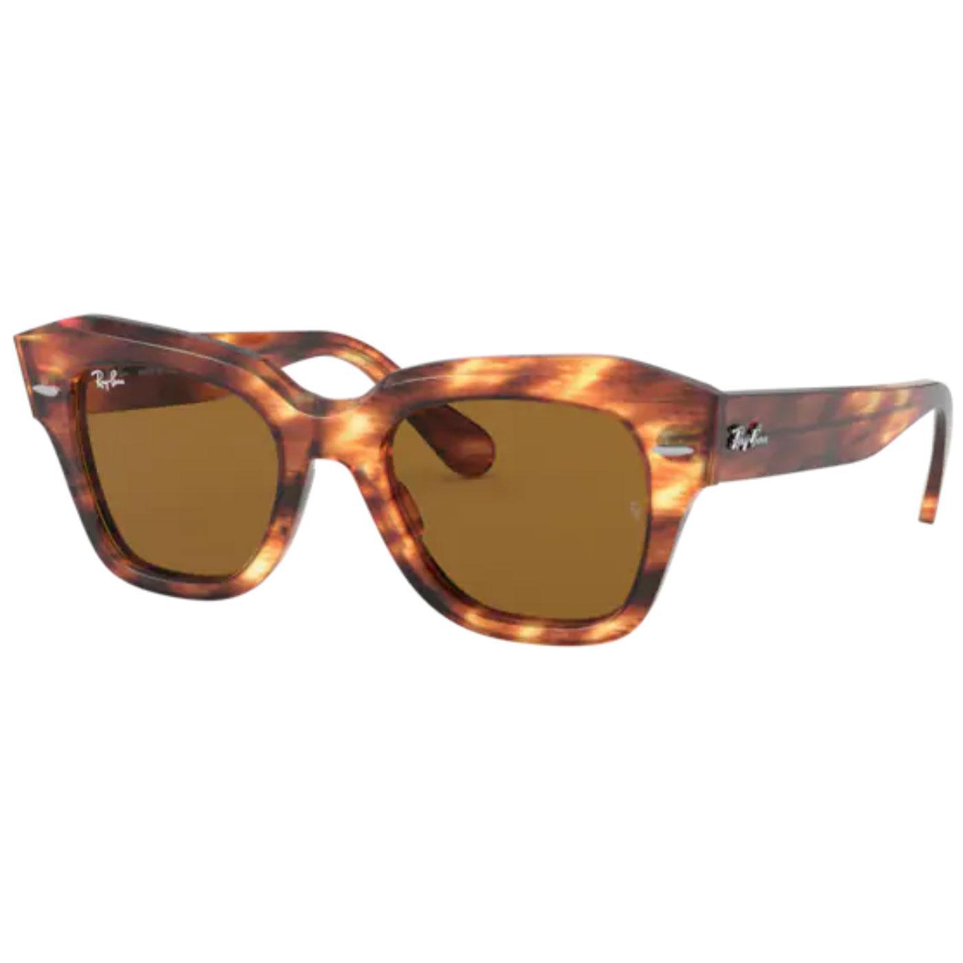 RAY-BAN RB2186 Cats Eye Wayfarer Sunglasses (LH)