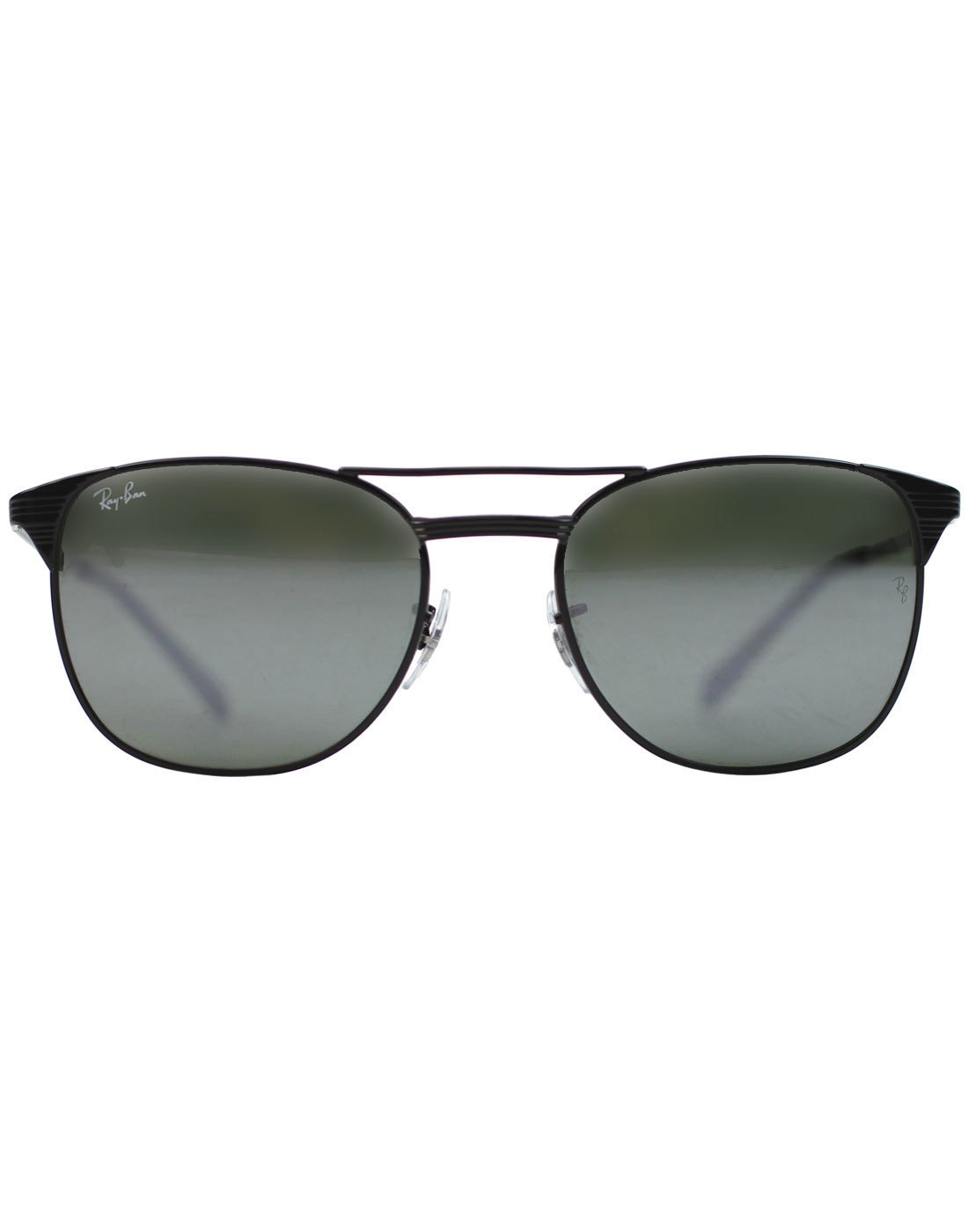 Signet RAY-BAN Retro 50s Sunglasses - Black Mirror