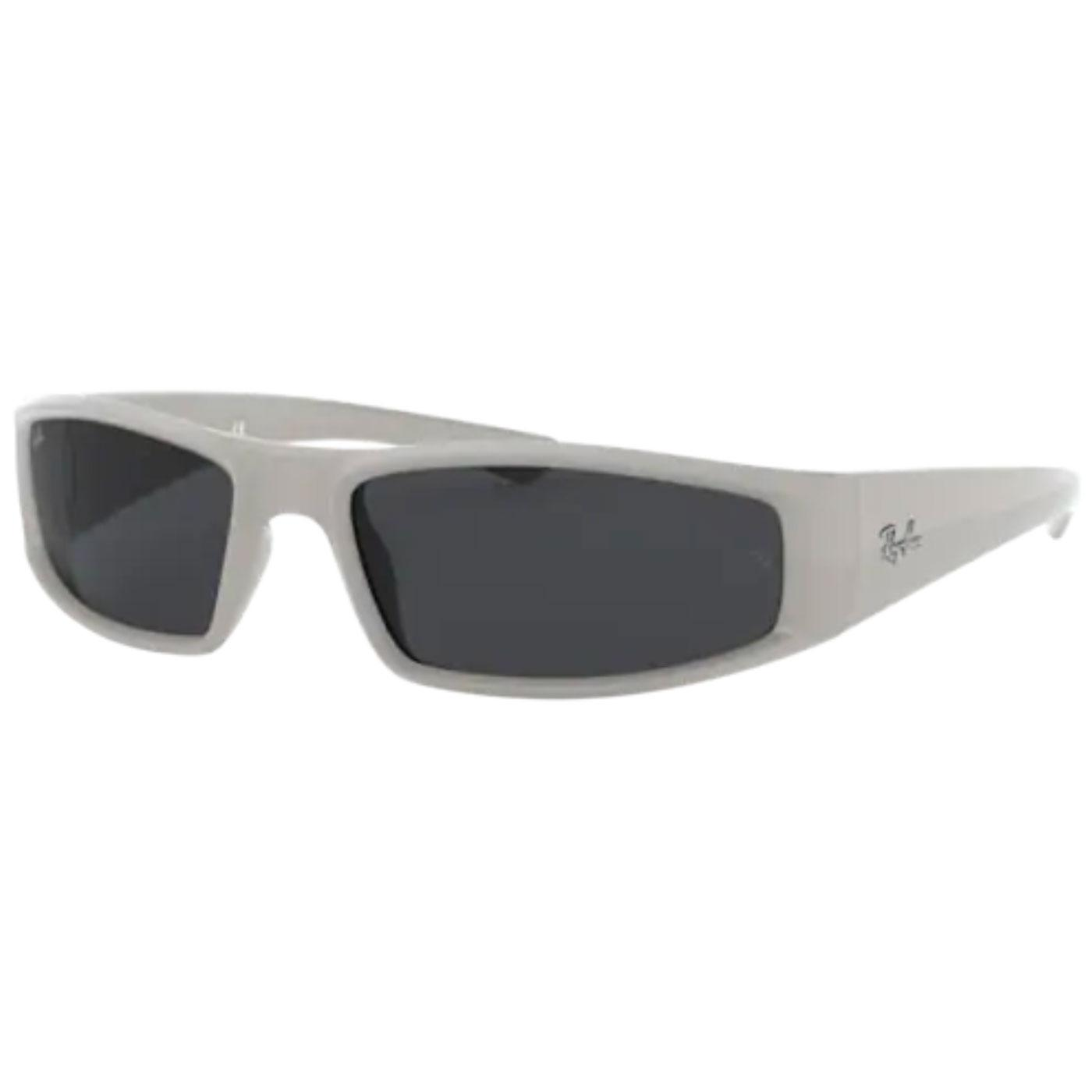 RAY-BAN RB4335 Retro Wrap Round Sunglasses (LG)
