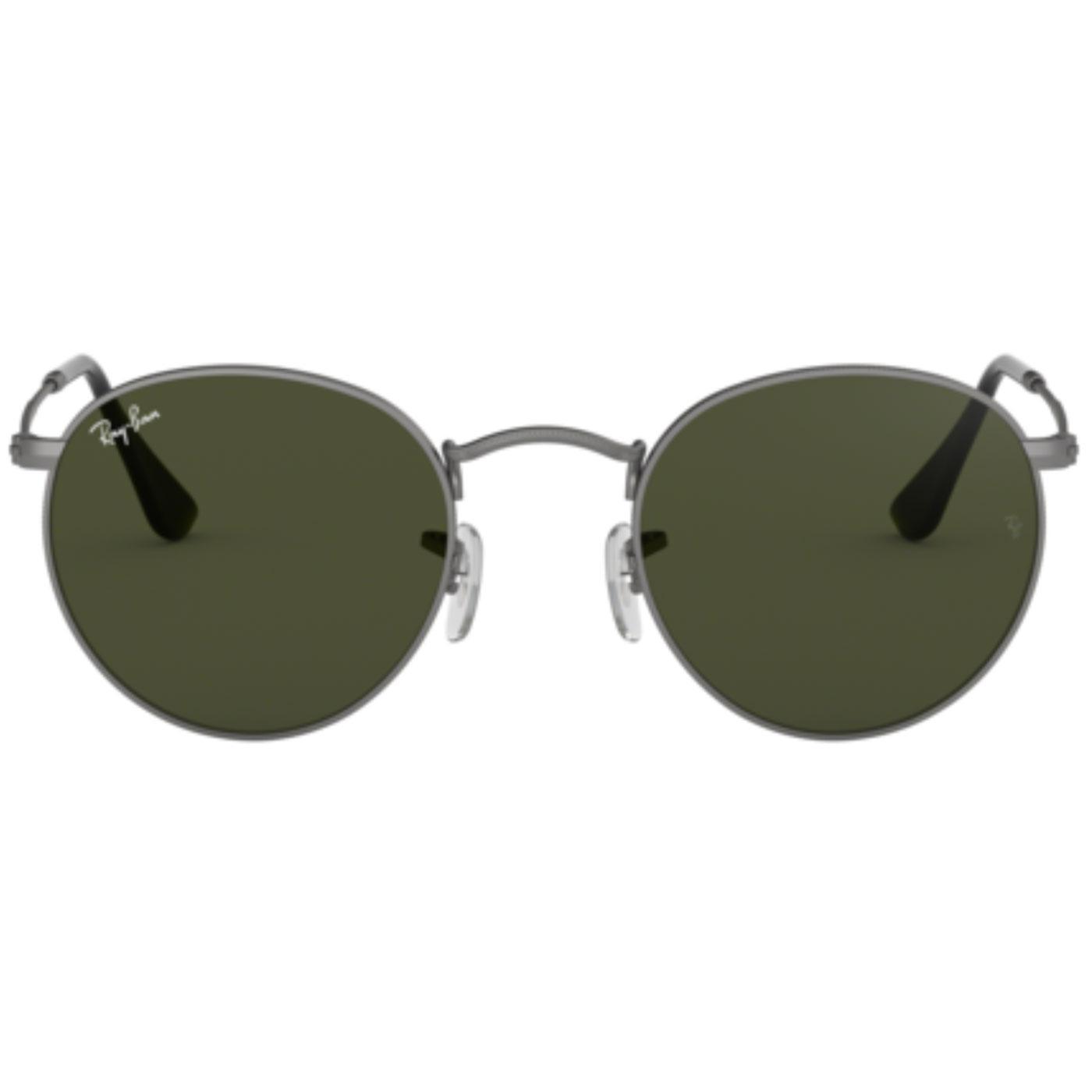 Ray-Ban Retro Mod 60s Round Sunglasses Gunmetal