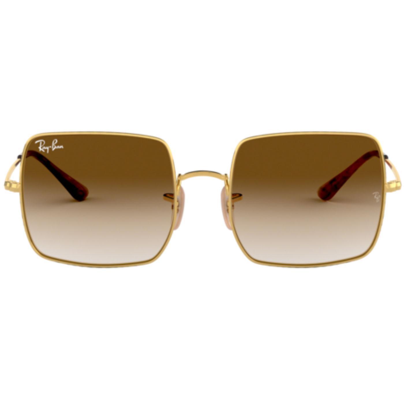 1971 Square RAY-BAN Retro 70s Square Sunglasses B