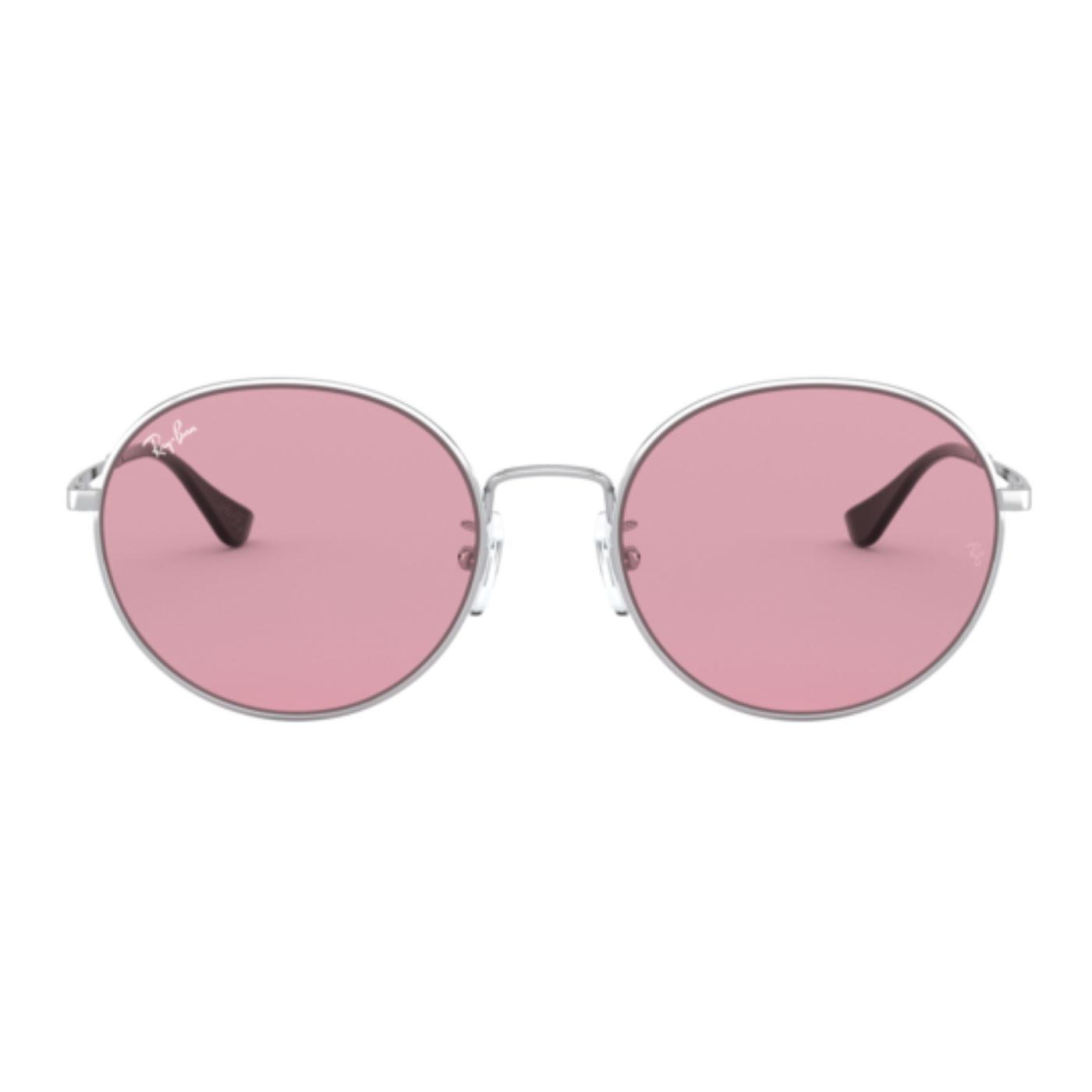 RAY-BAN x TEAM WANG Retro Round Sunglasses VIOLET